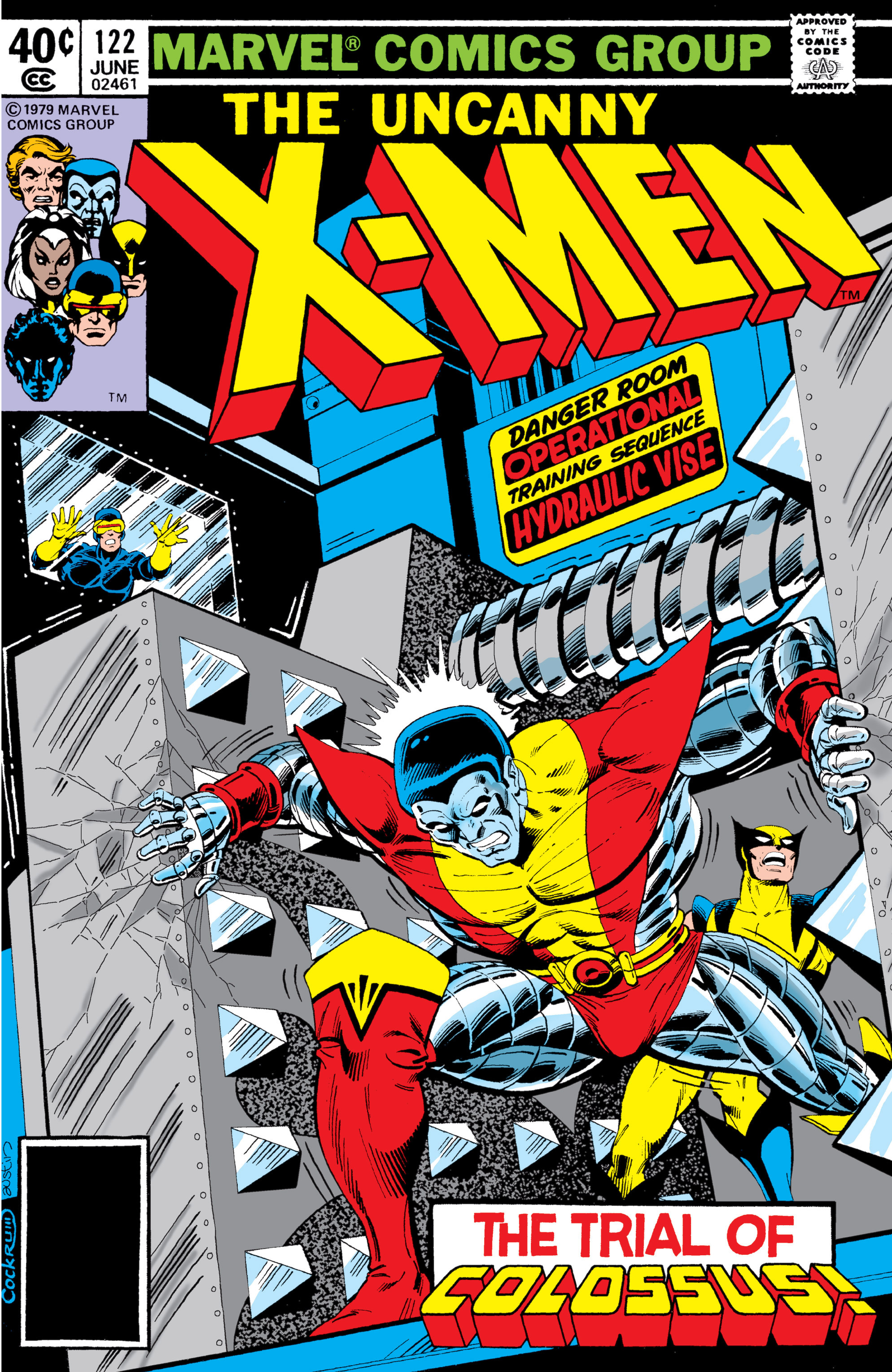 Read online Uncanny X-Men (1963) comic -  Issue #122 - 1