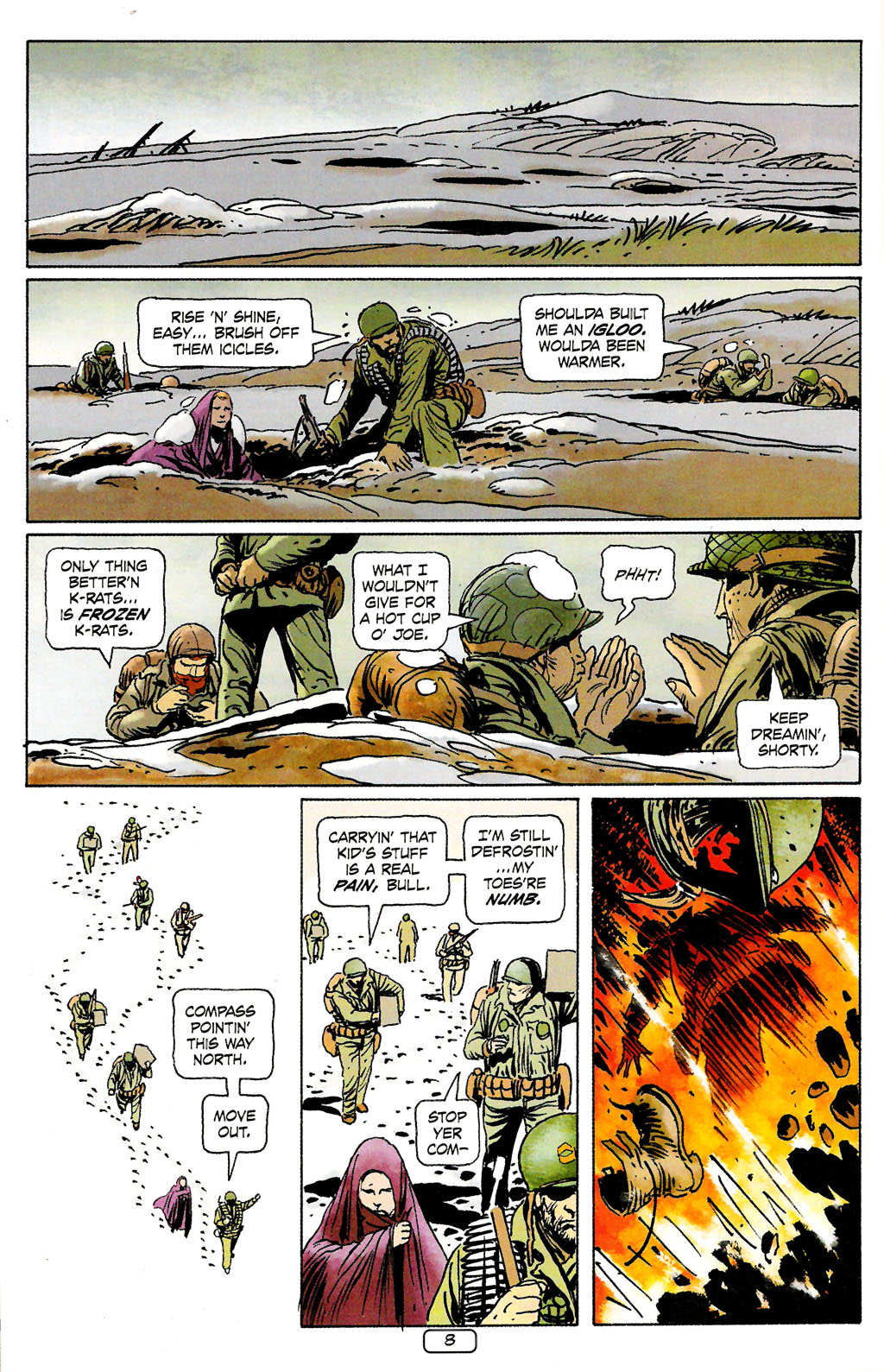 Read online Sgt. Rock: The Prophecy comic -  Issue #4 - 8