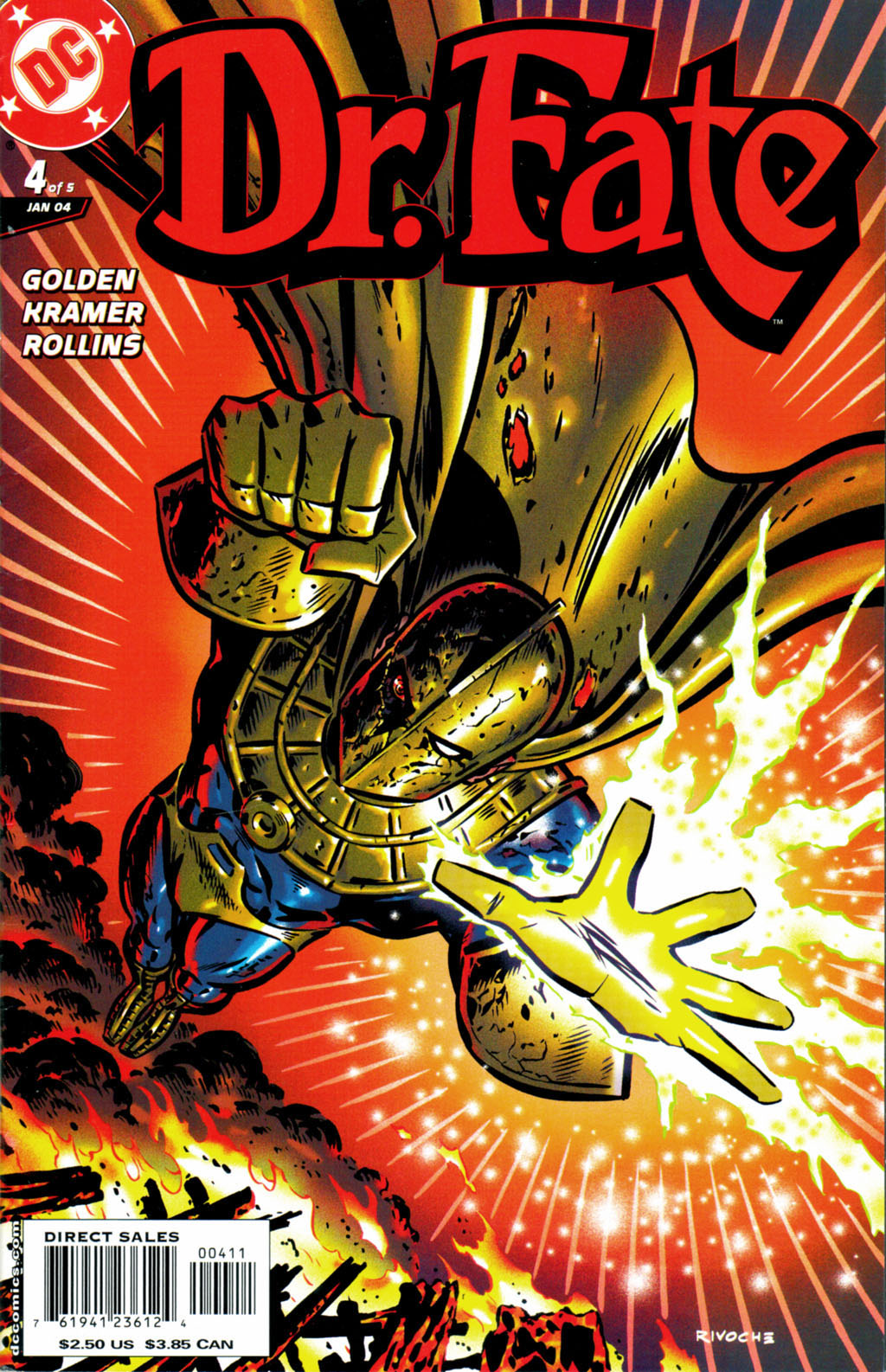 Read online Doctor Fate (2003) comic -  Issue #4 - 1