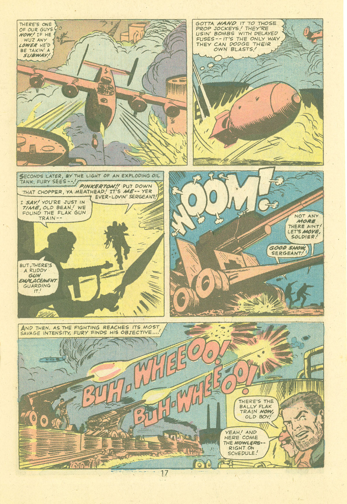Read online Sgt. Fury comic -  Issue #124 - 19