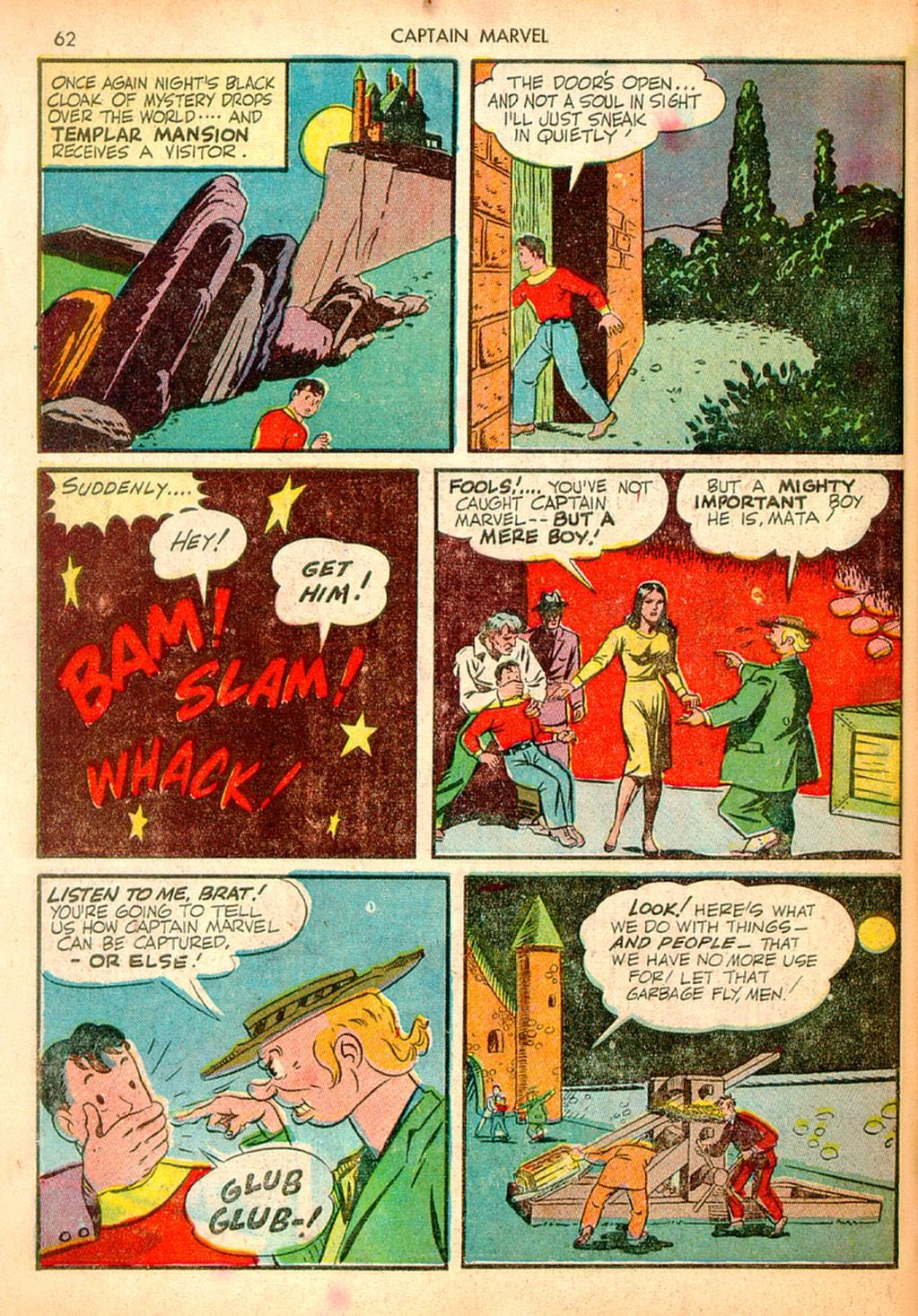 Captain Marvel Adventures issue 10 - Page 62