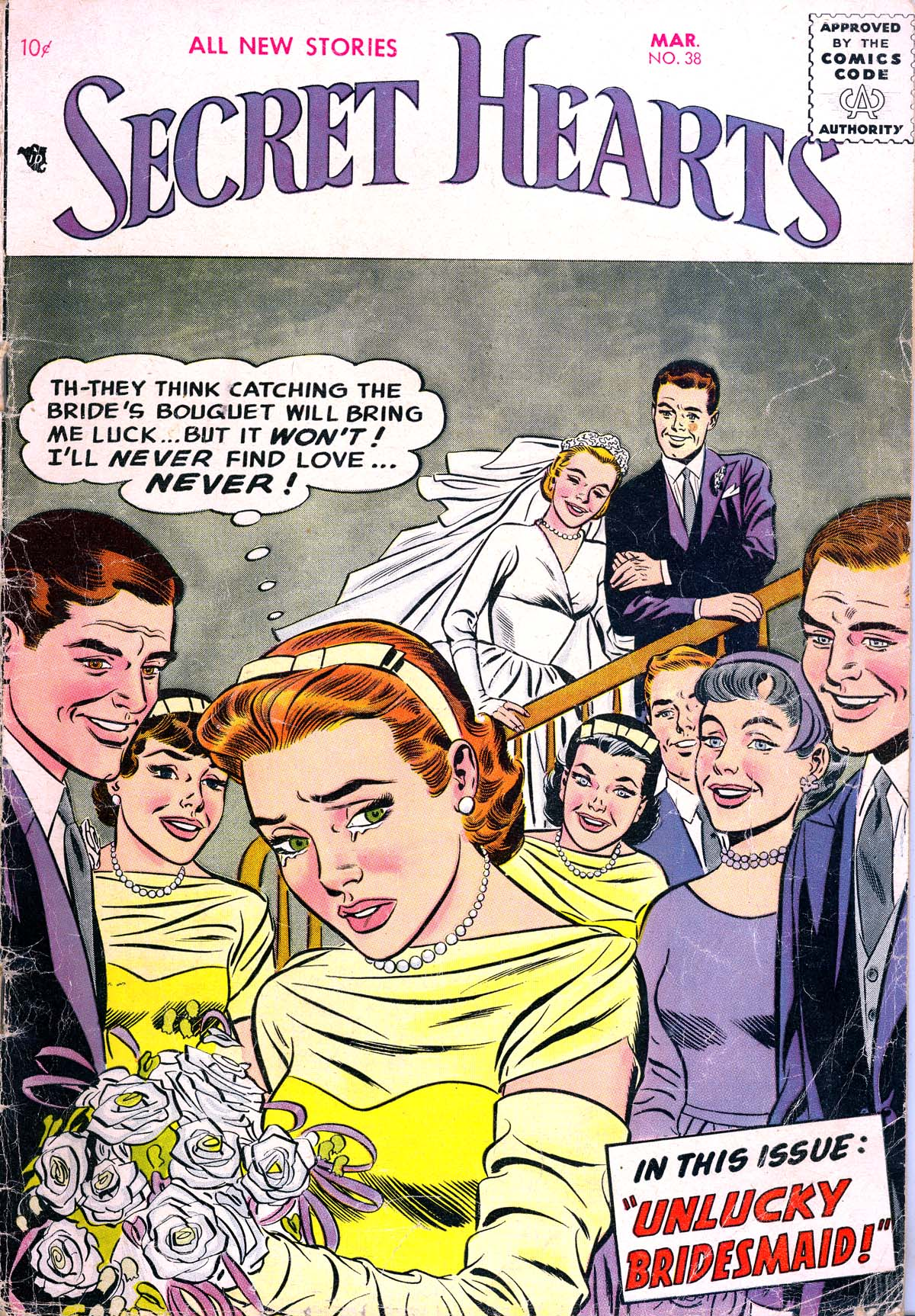Read online Secret Hearts comic -  Issue #38 - 1