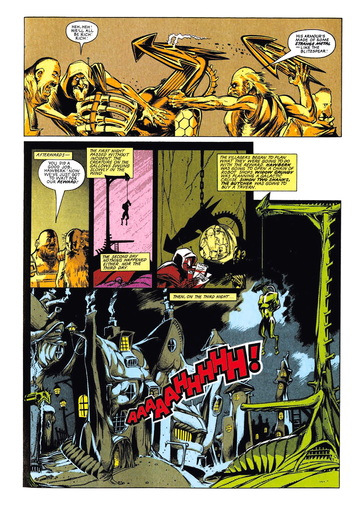 Read online Nemesis The Warlock comic -  Issue # TPB Deviant Edition - 33