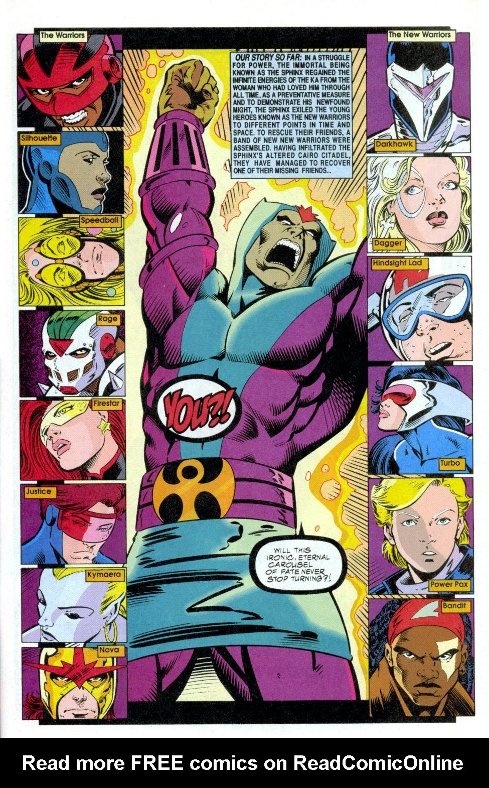 The New Warriors Issue #50 #54 - English 2