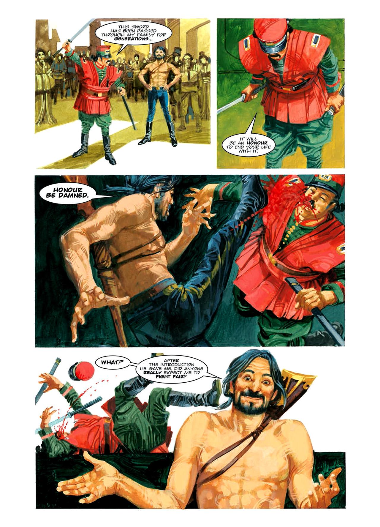 Read online Nikolai Dante comic -  Issue # TPB 6 - 108