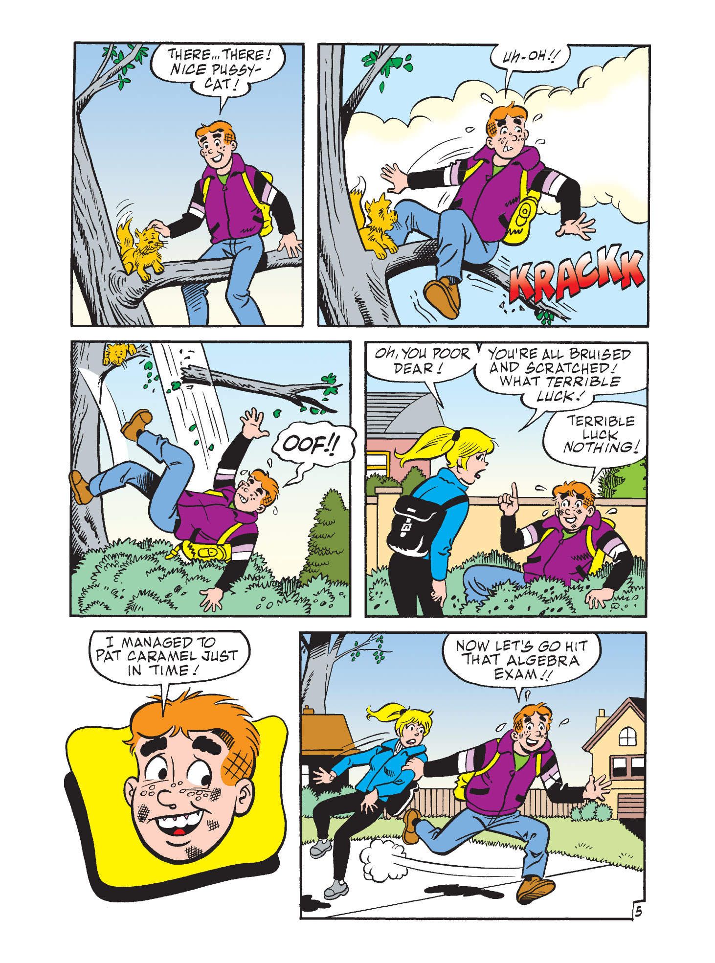 Read online Archie's Funhouse Double Digest comic -  Issue #9 - 16