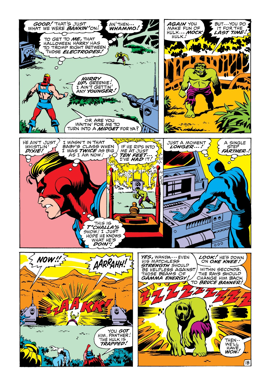 Read online Marvel Masterworks: The Incredible Hulk comic -  Issue # TPB 6 (Part 2) - 51