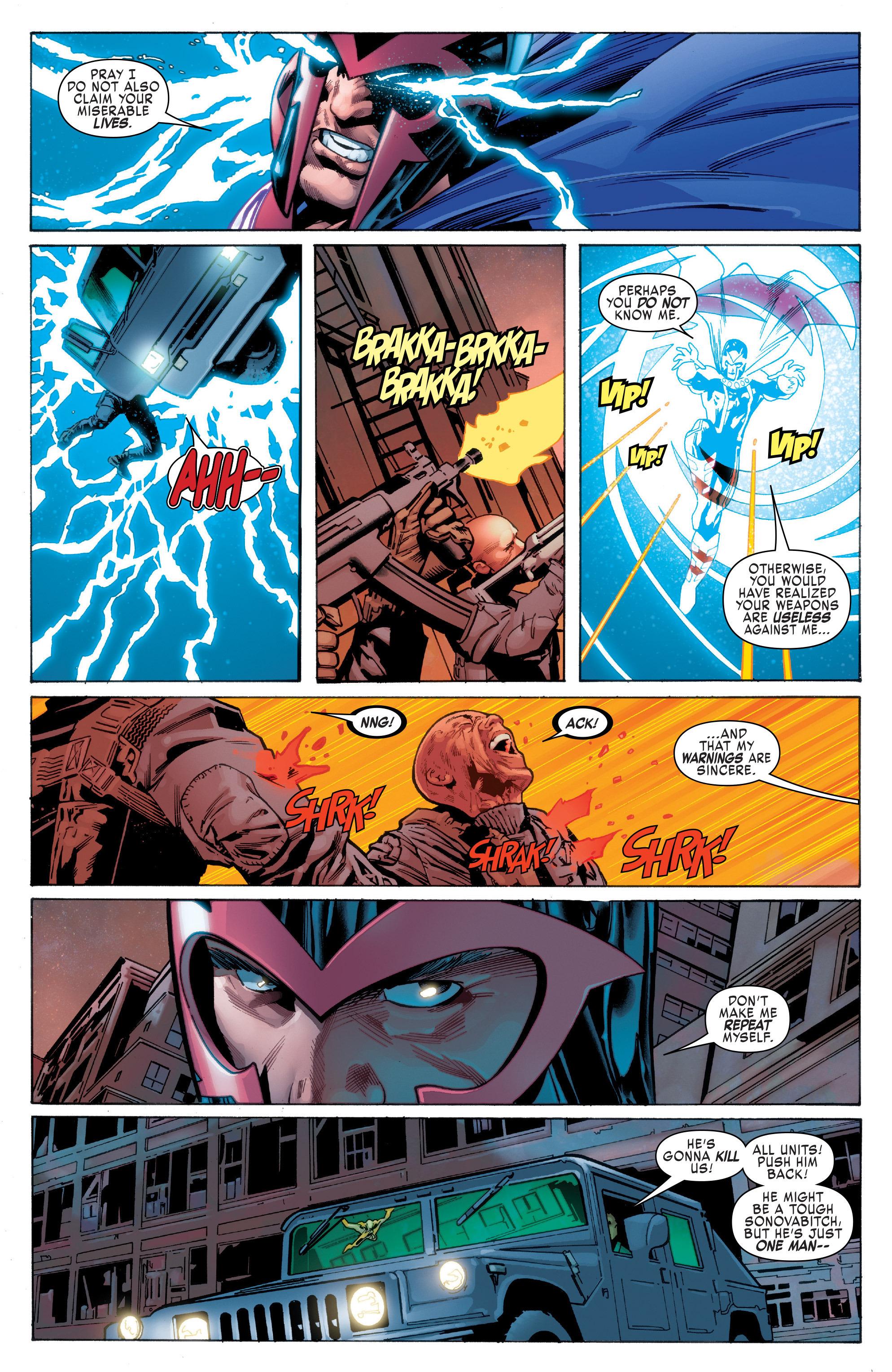 Read online Uncanny X-Men (2016) comic -  Issue #1 - 5