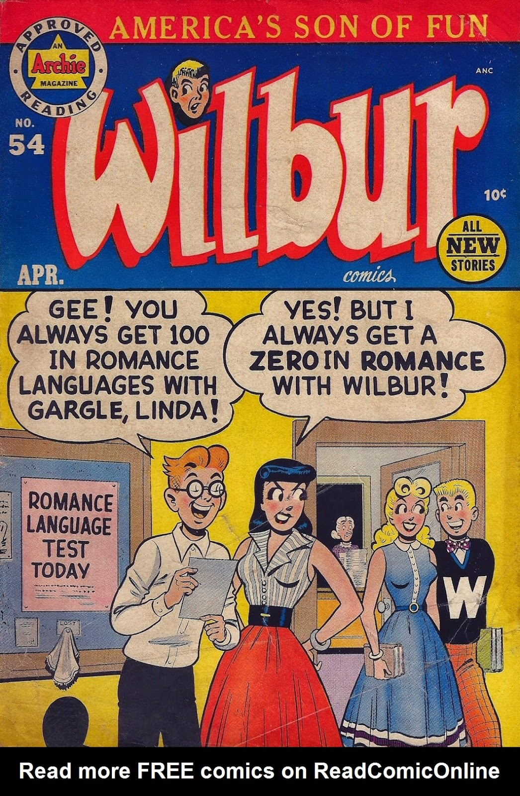 Wilbur Comics 54 Page 1