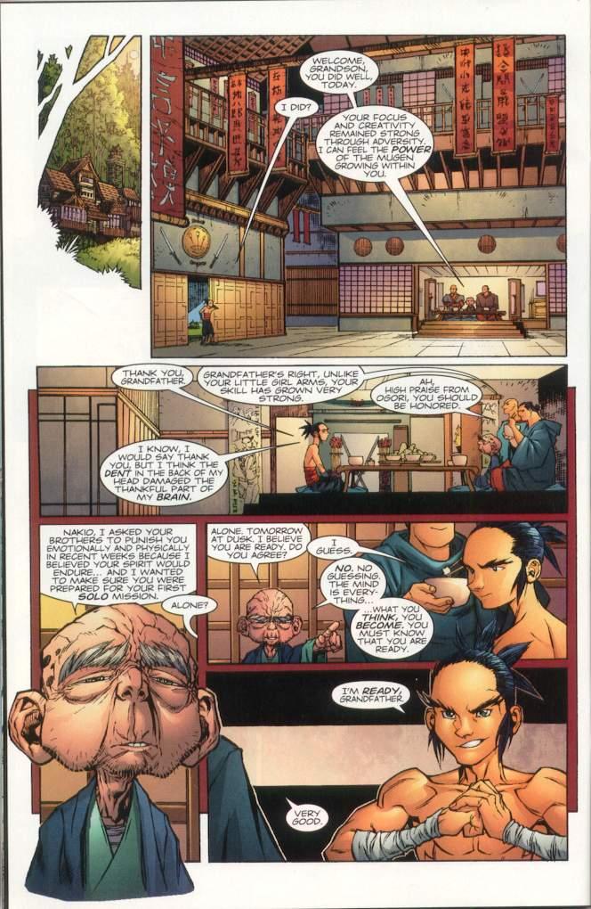 Read online Ninja Boy comic -  Issue #1 - 21