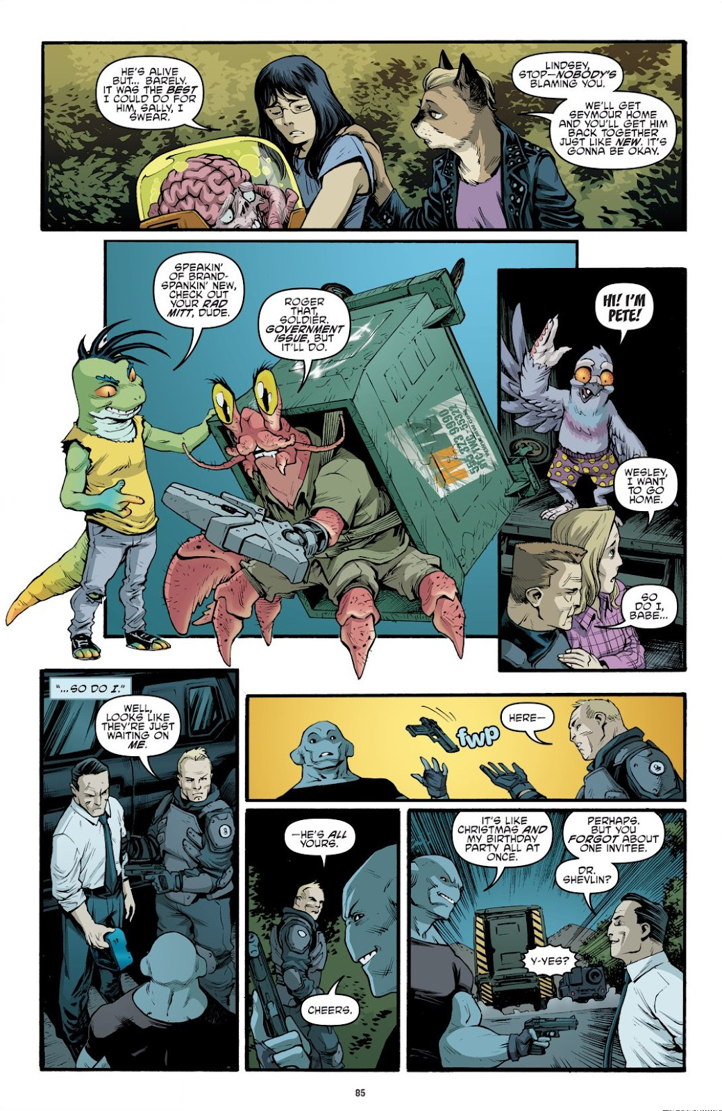Read online Teenage Mutant Ninja Turtles: The IDW Collection comic -  Issue # TPB 9 (Part 1) - 86