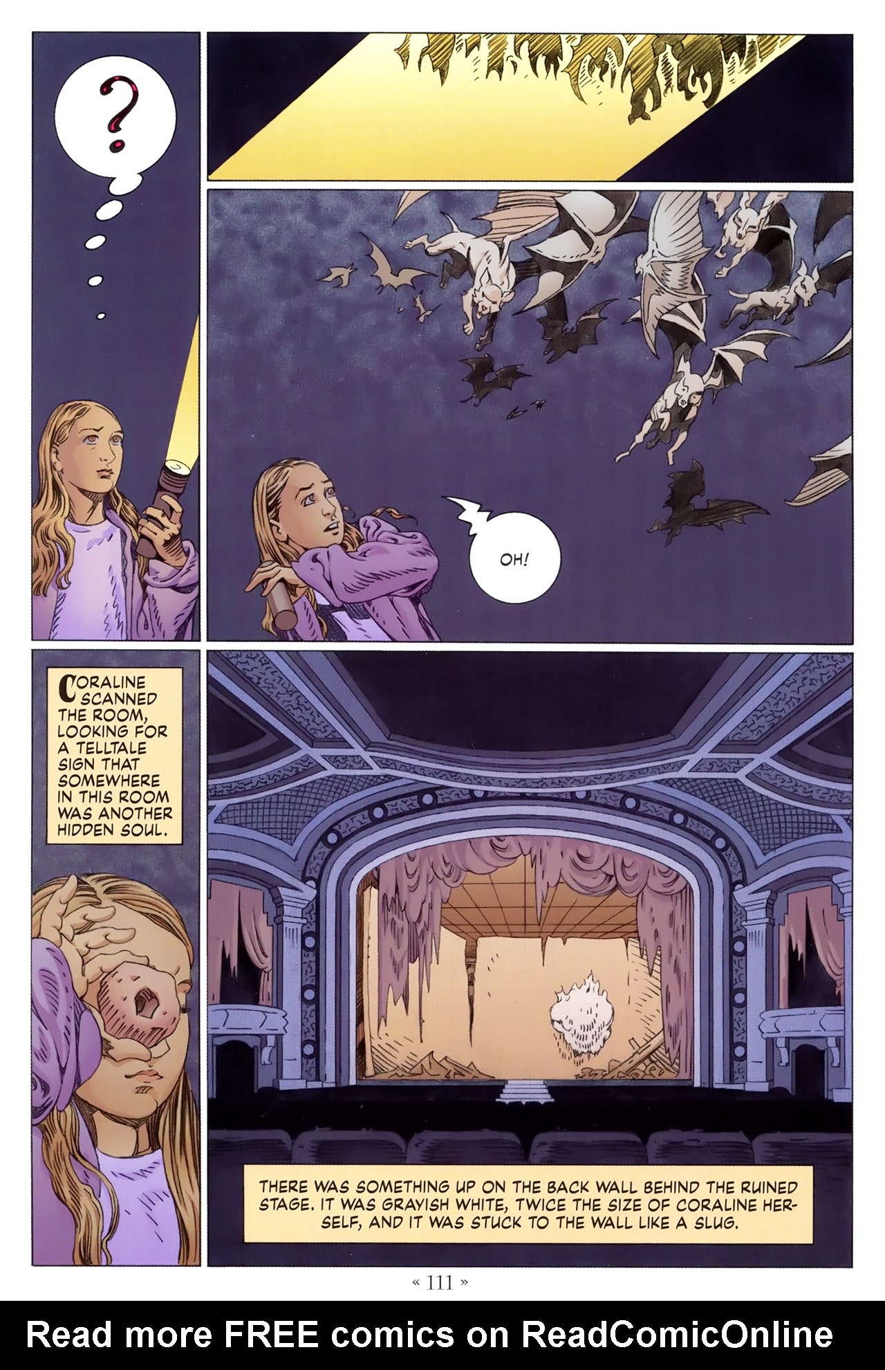 Read online Coraline comic -  Issue #1 - 117