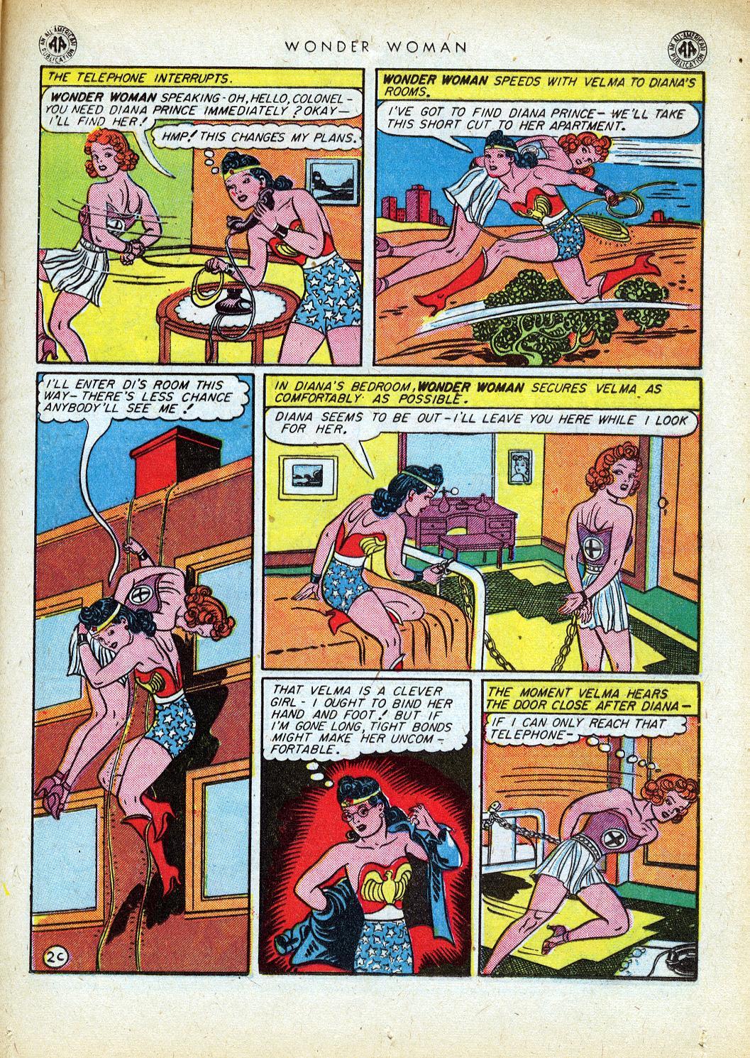 Read online Wonder Woman (1942) comic -  Issue #12 - 35