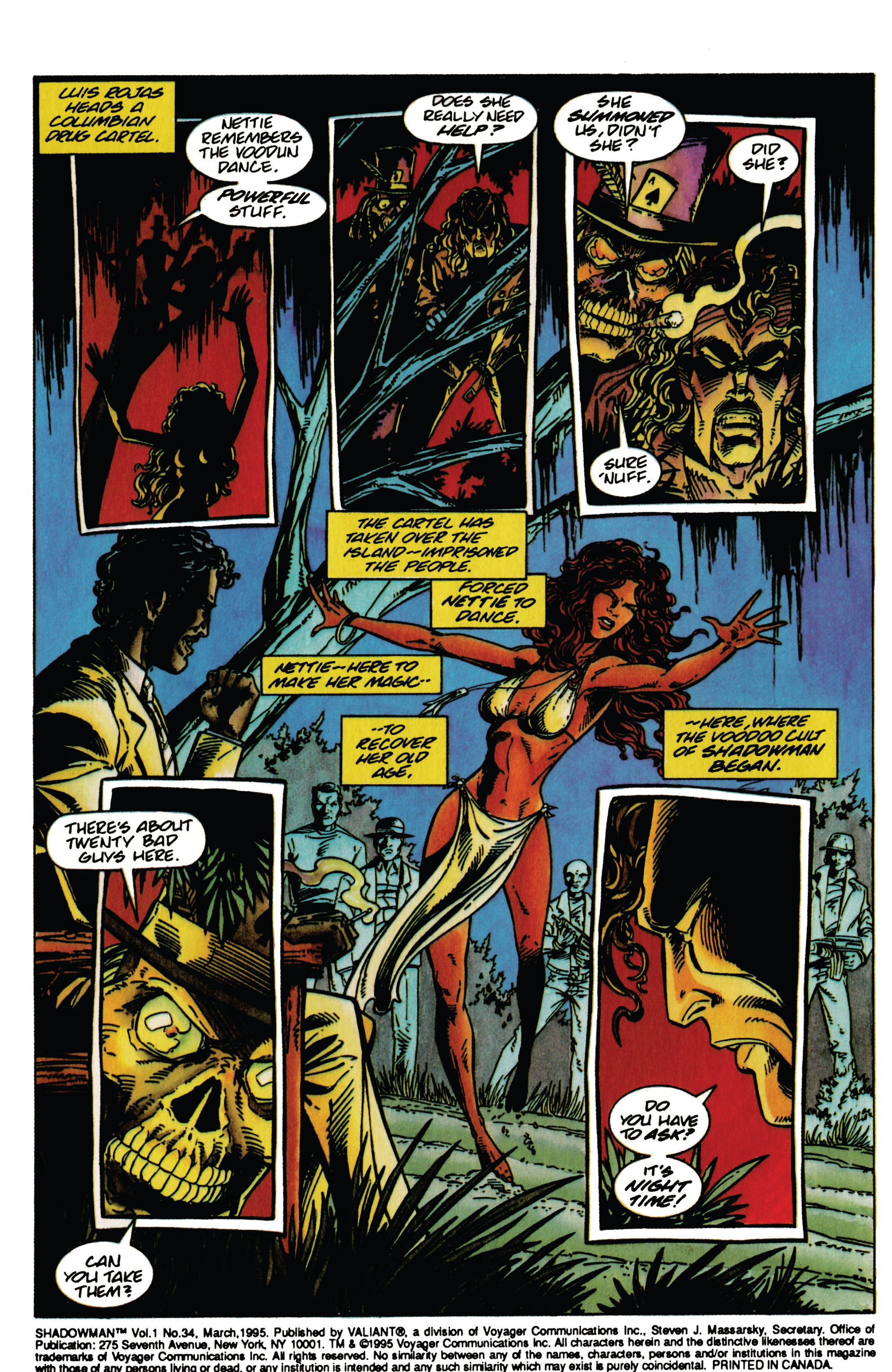 Read online Shadowman (1992) comic -  Issue #34 - 3