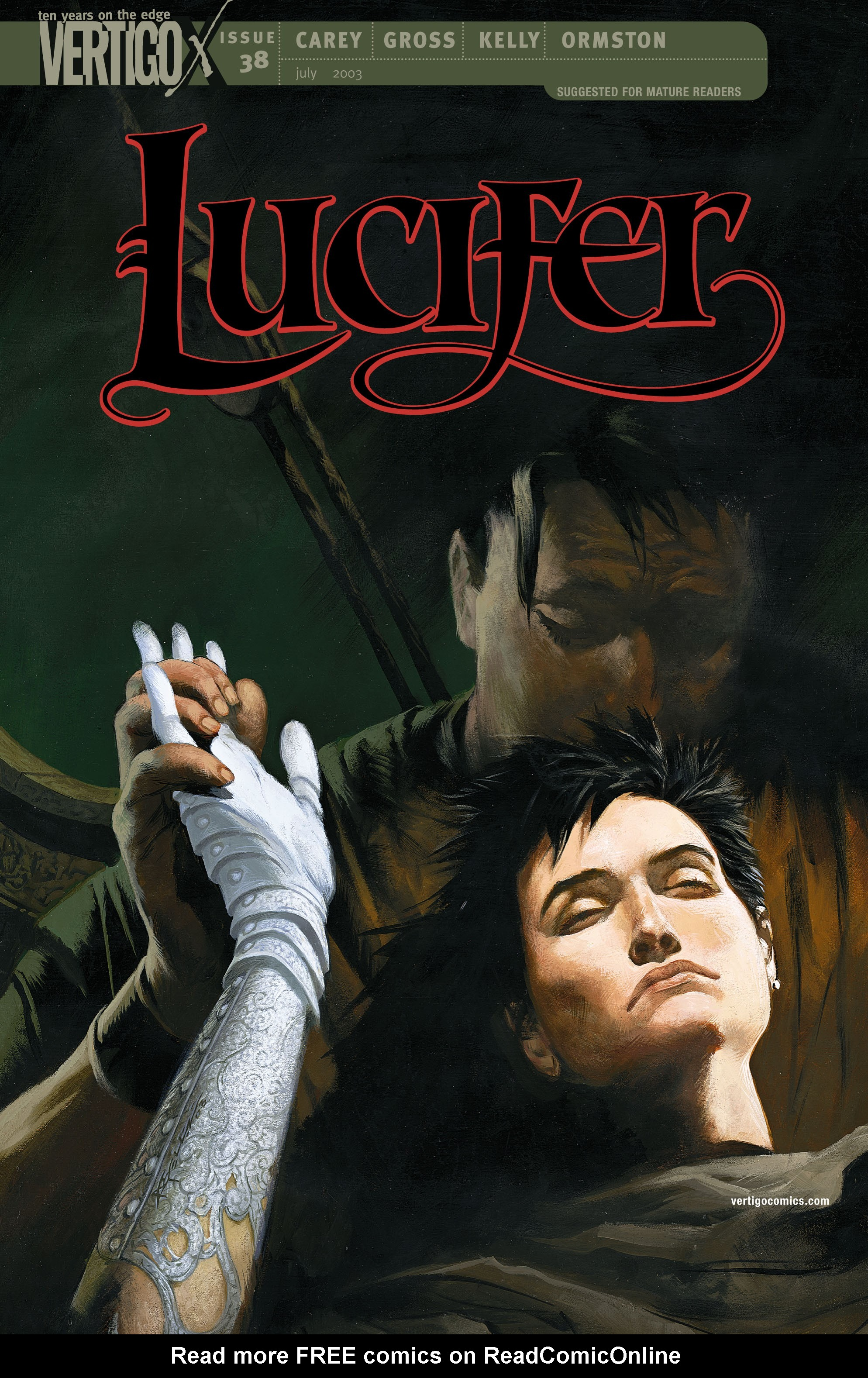 Lucifer (2000) issue 38 - Page 1