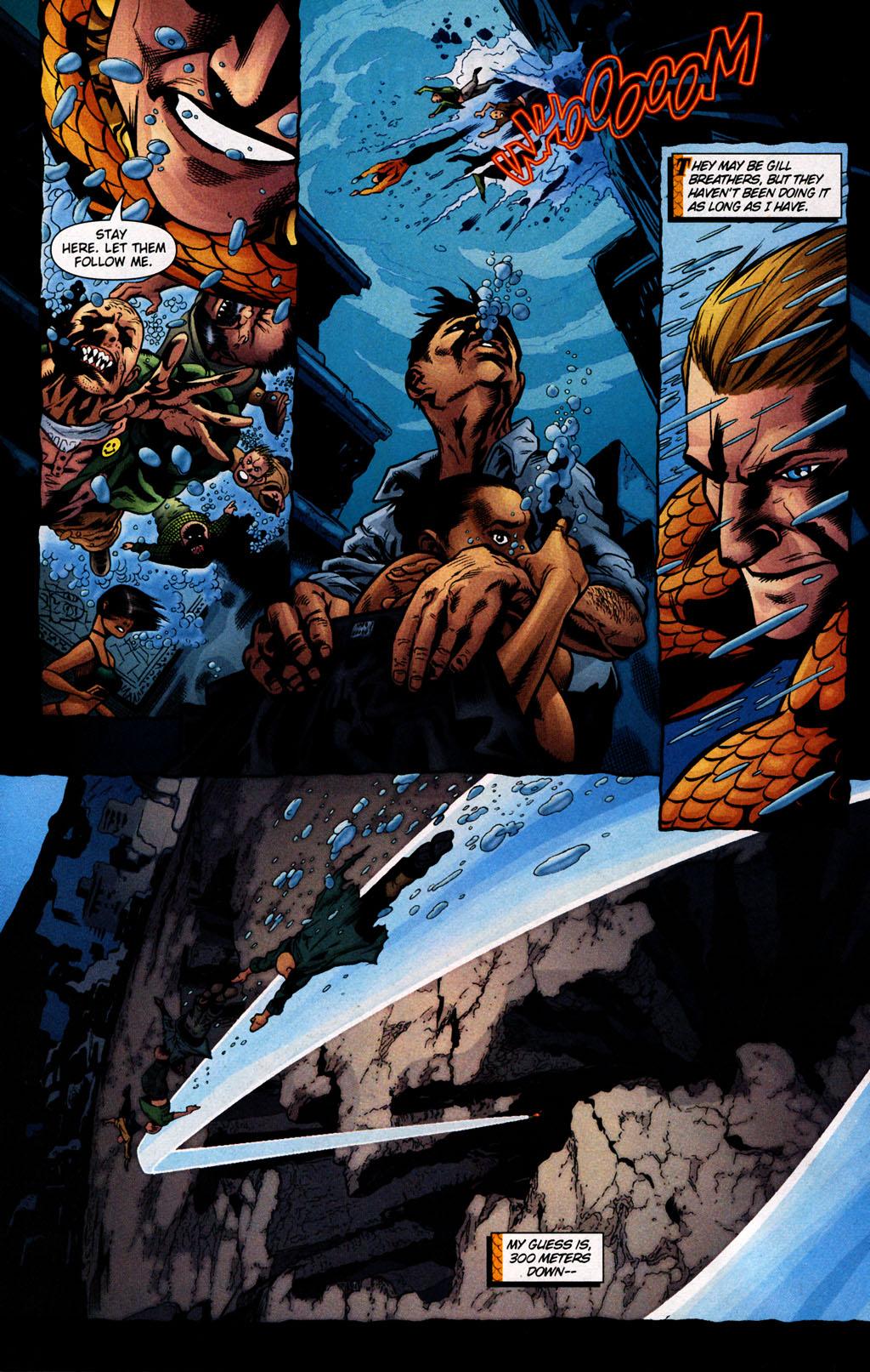 Read online Aquaman (2003) comic -  Issue #25 - 19