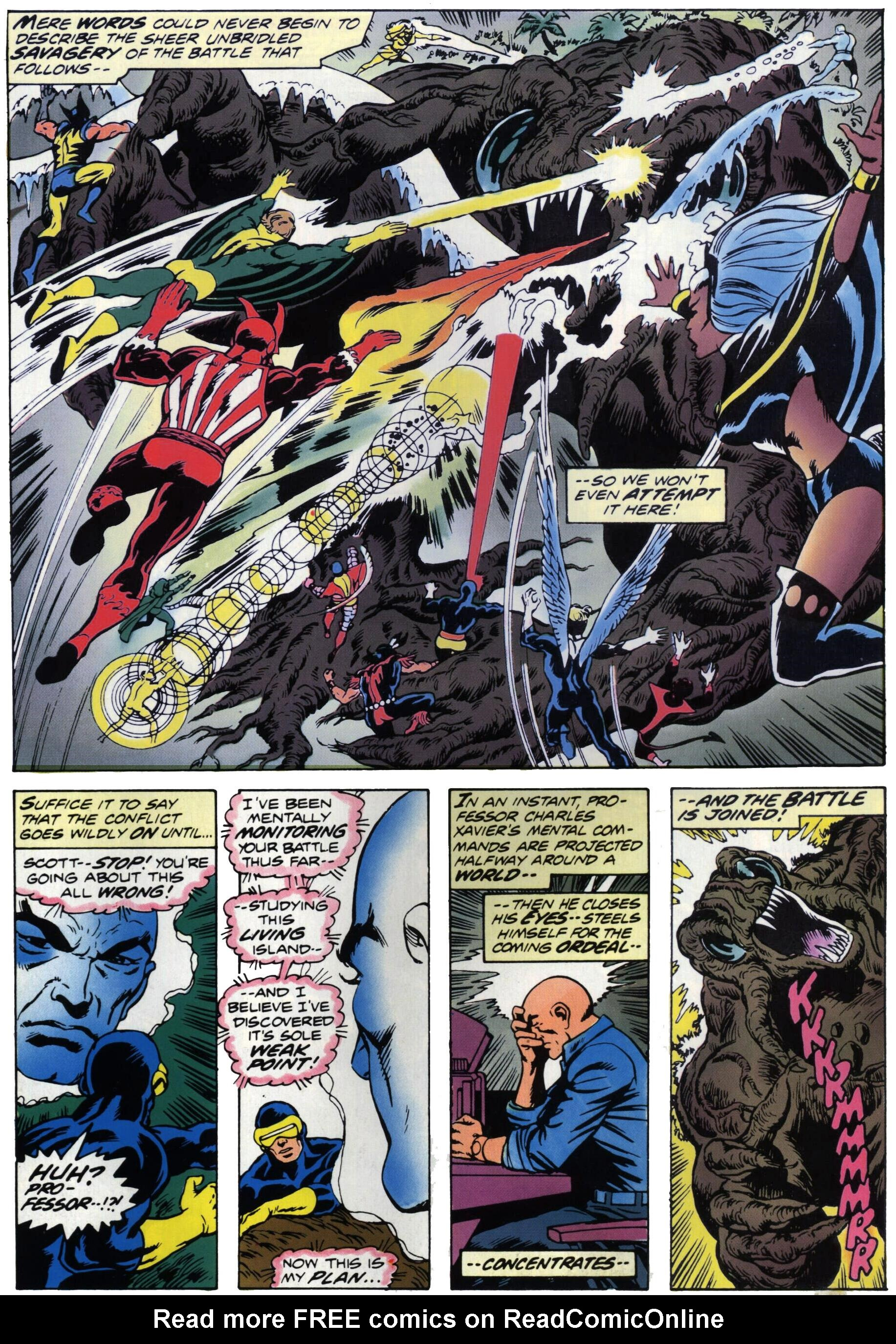 Read online Giant-Size X-Men comic -  Issue #1 - 32