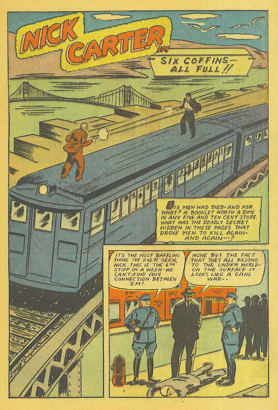 Read online Shadow Comics comic -  Issue #71 - 16