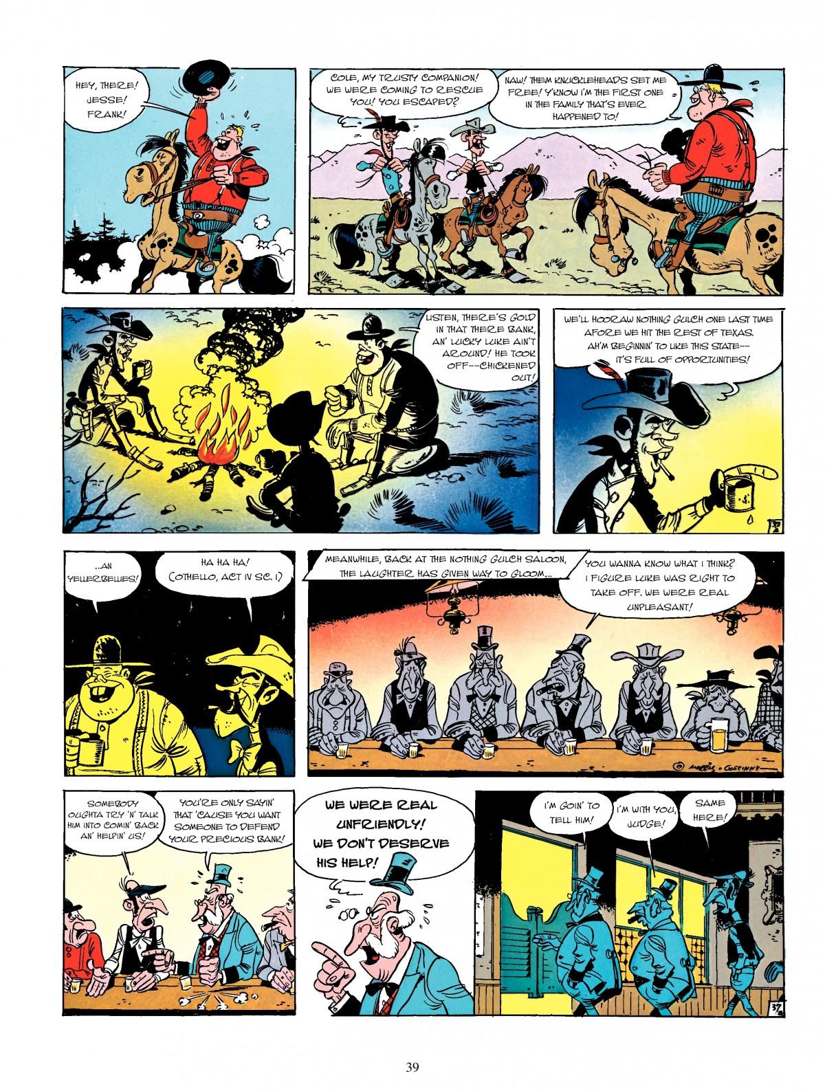 Read online A Lucky Luke Adventure comic -  Issue #4 - 41