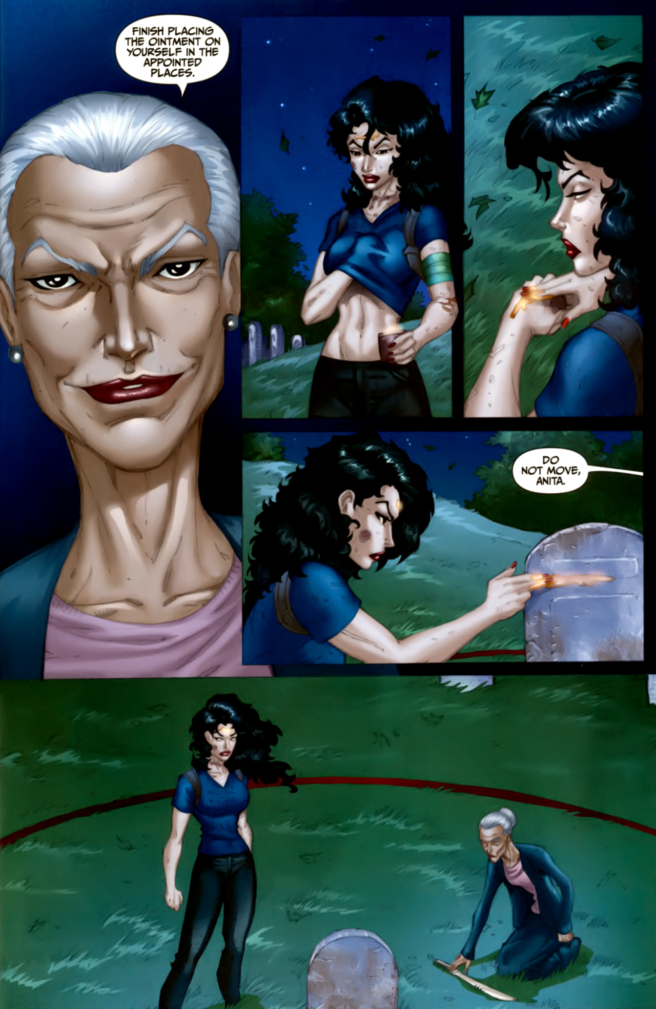 Read online Anita Blake: The Laughing Corpse - Executioner comic -  Issue #4 - 25