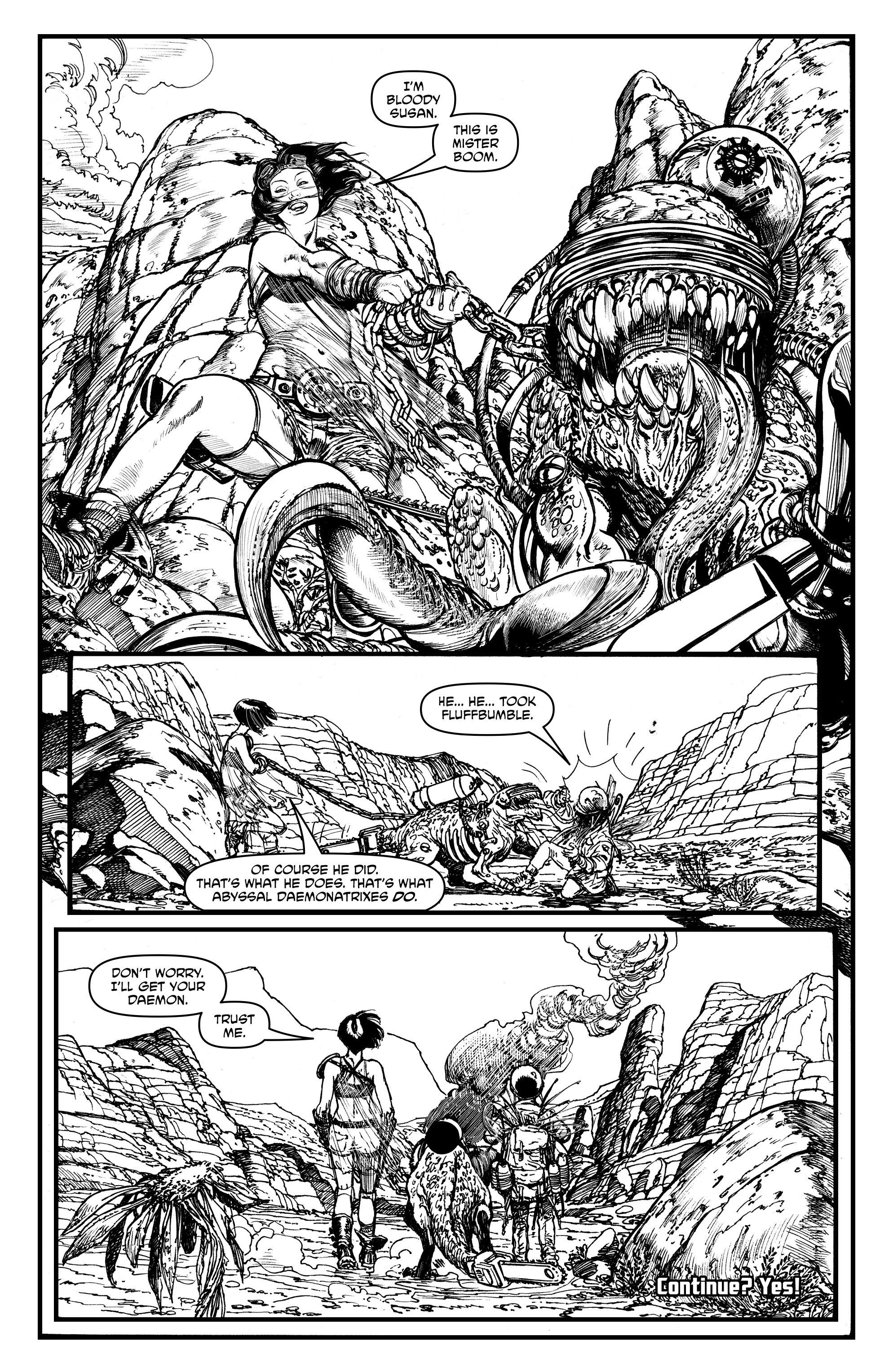 Read online Alan Moore's Cinema Purgatorio comic -  Issue #1 - 32
