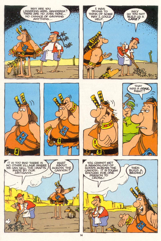 Read online Sergio Aragonés Groo the Wanderer comic -  Issue #102 - 16