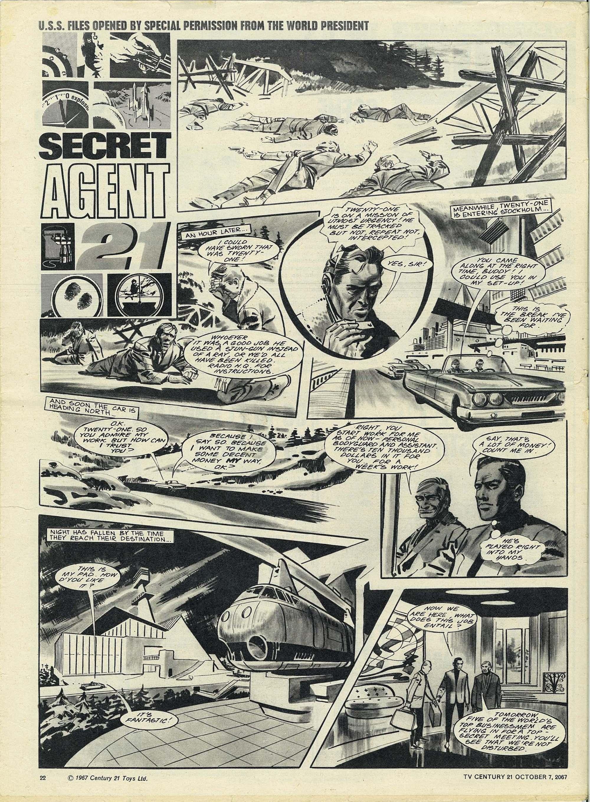 Read online TV Century 21 (TV 21) comic -  Issue #142 - 21