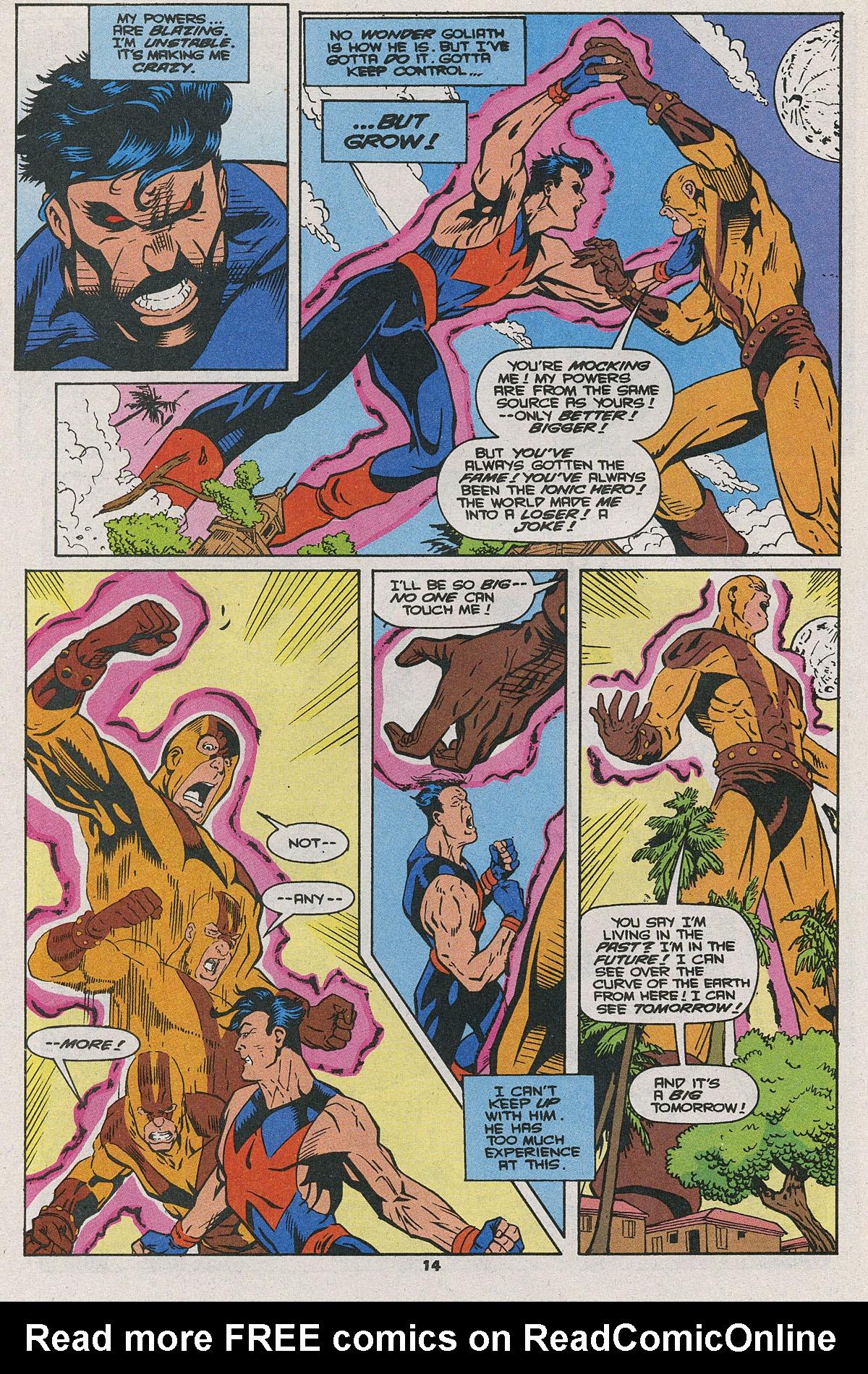 Read online Wonder Man (1991) comic -  Issue #25 - 10
