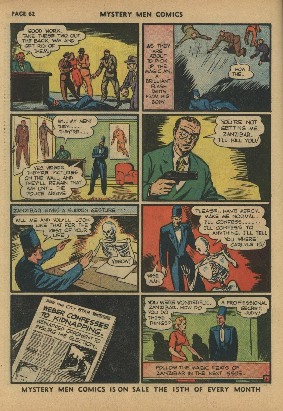 Mystery Men Comics issue 17 - Page 64