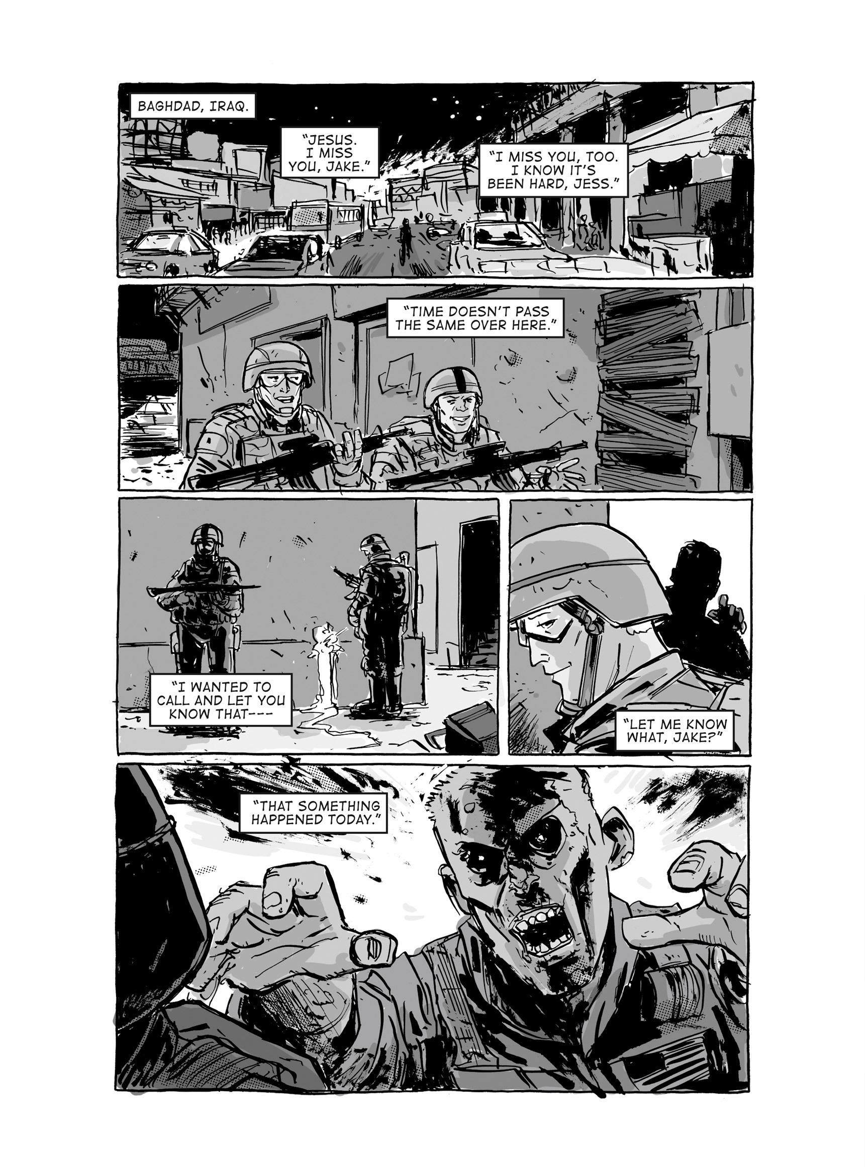 Read online FUBAR comic -  Issue #3 - 376