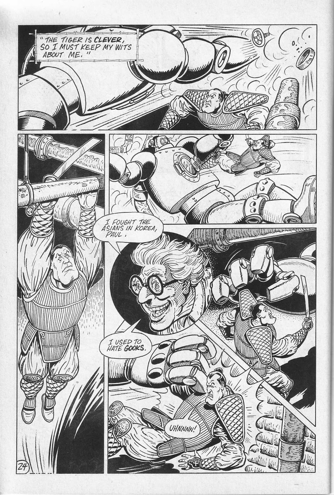 Read online Paul the Samurai (1991) comic -  Issue # TPB - 30