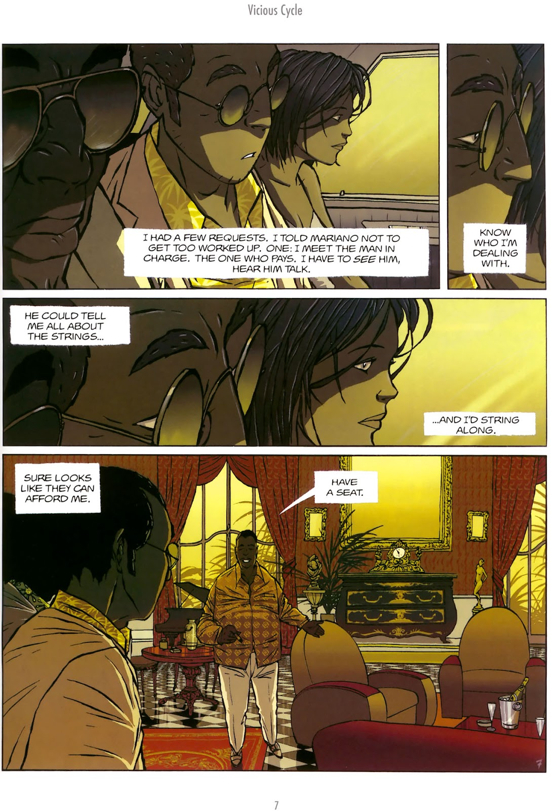 Read online The Killer comic -  Issue #5 - 9