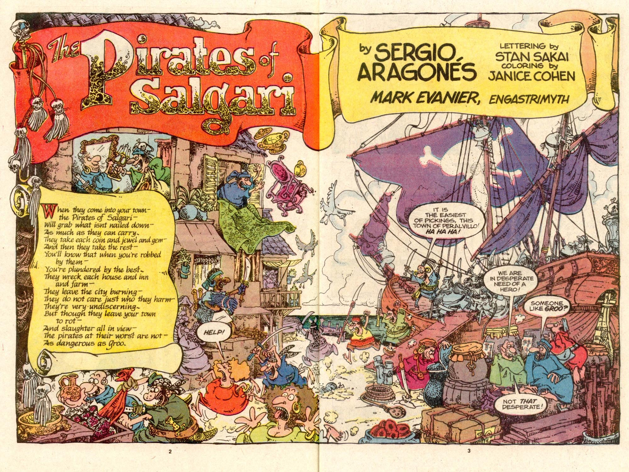Read online Sergio Aragonés Groo the Wanderer comic -  Issue #33 - 3