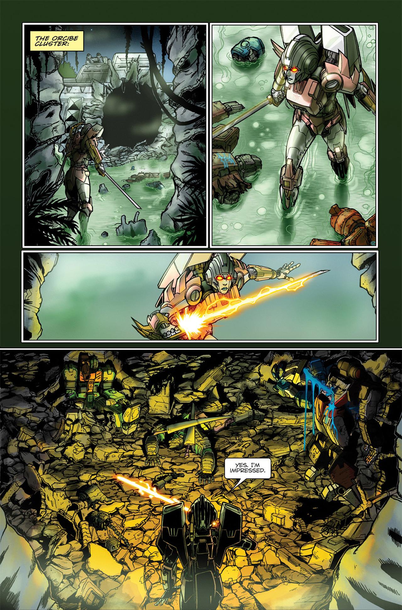 Read online Transformers Spotlight: Hardhead comic -  Issue # Full - 18
