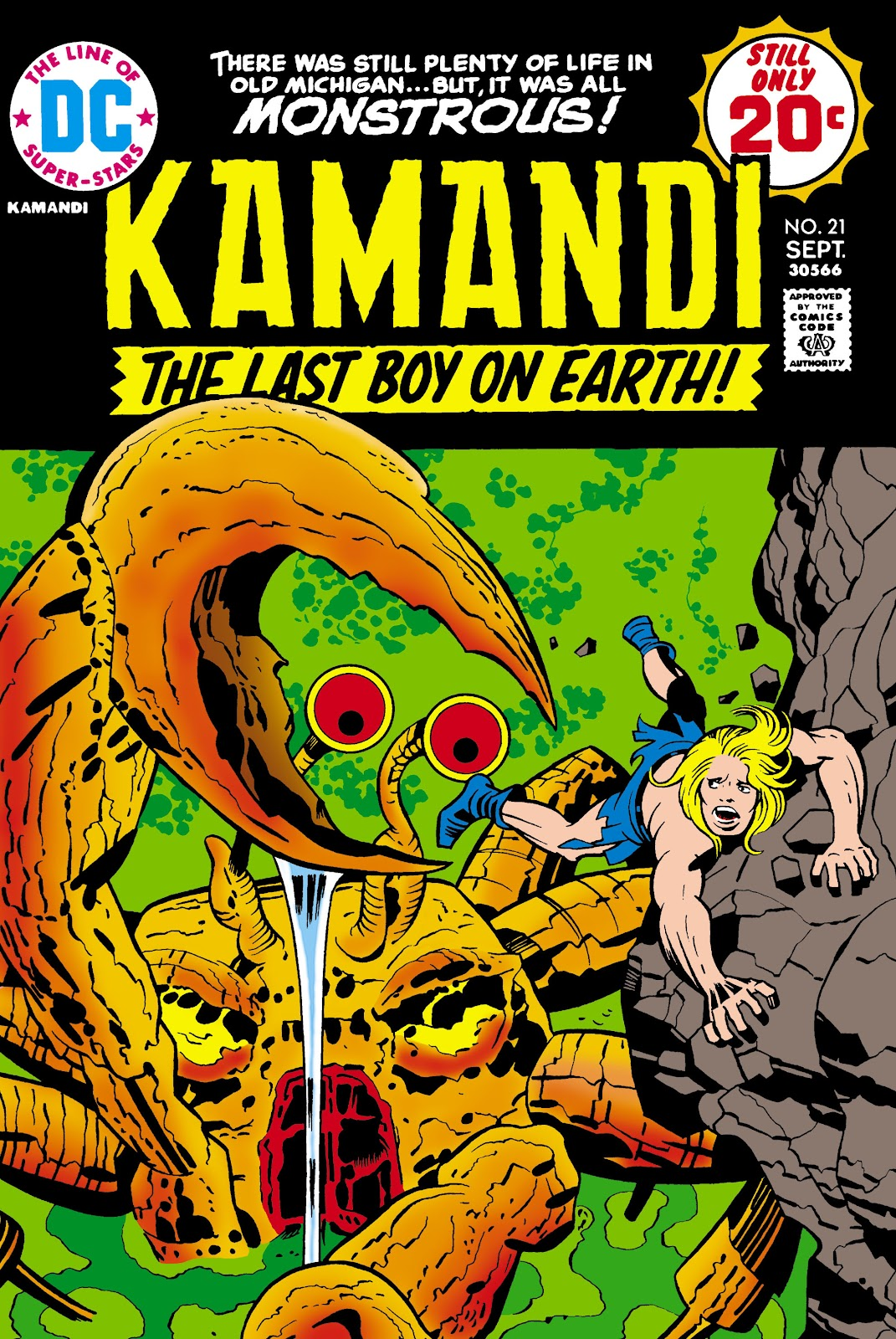 Kamandi, The Last Boy On Earth issue 21 - Page 1
