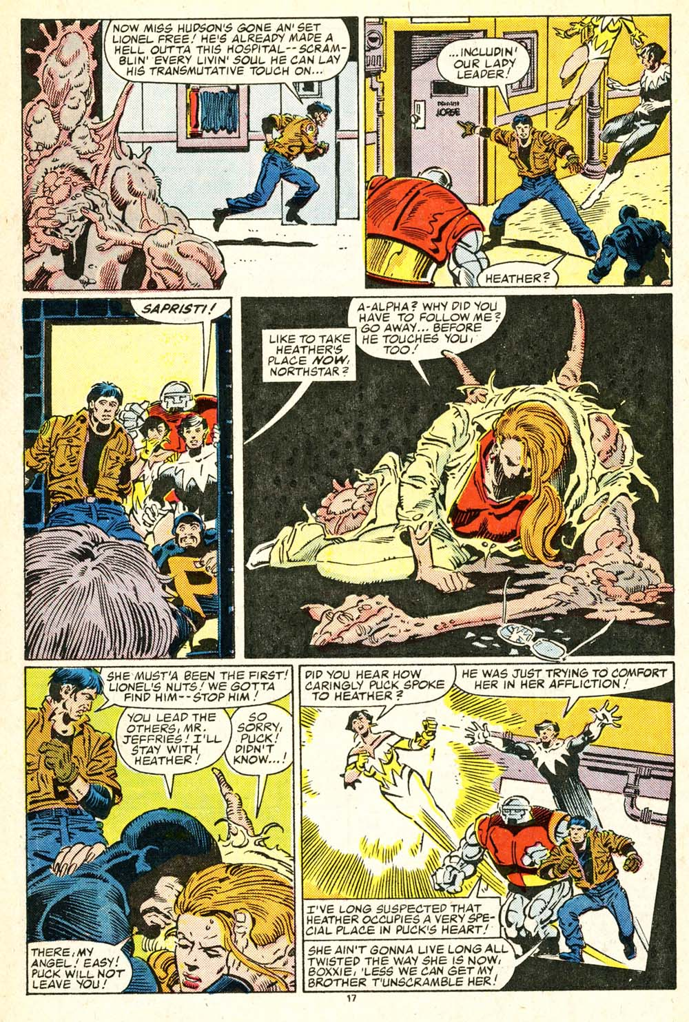 Read online Alpha Flight (1983) comic -  Issue #30 - 18