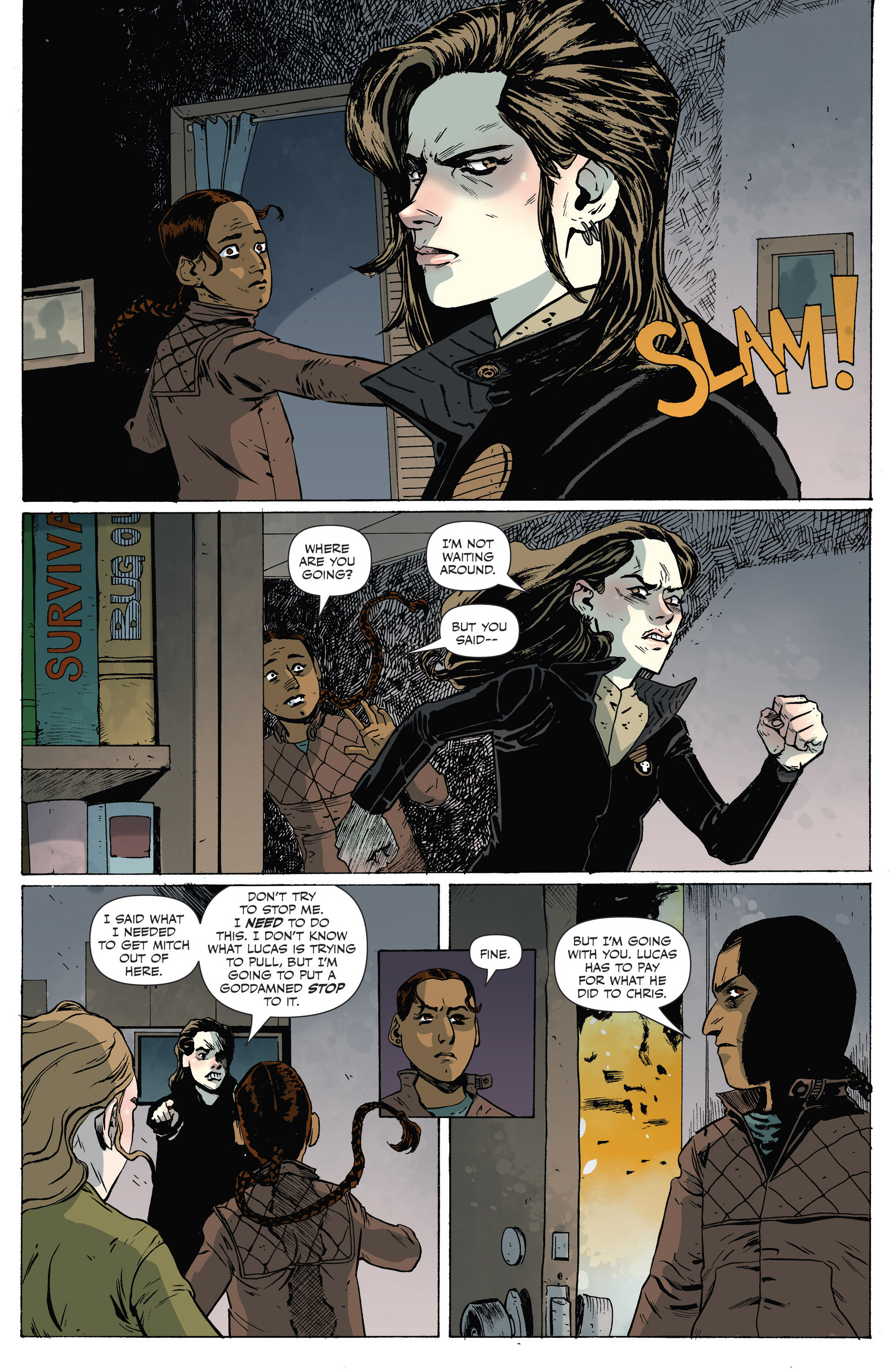 Read online Sheltered comic -  Issue #7 - 16