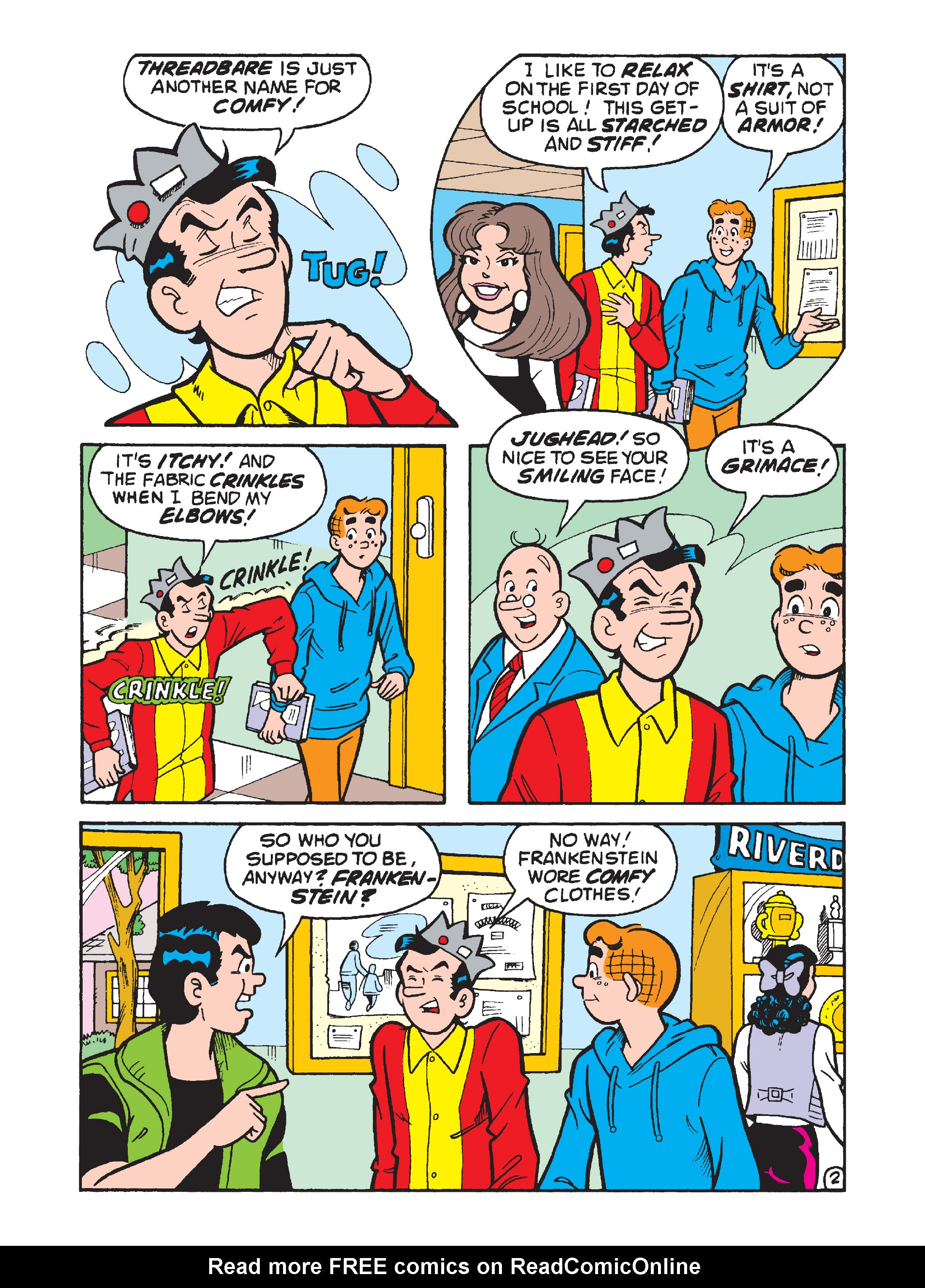 Read online Archie's Funhouse Double Digest comic -  Issue #8 - 106