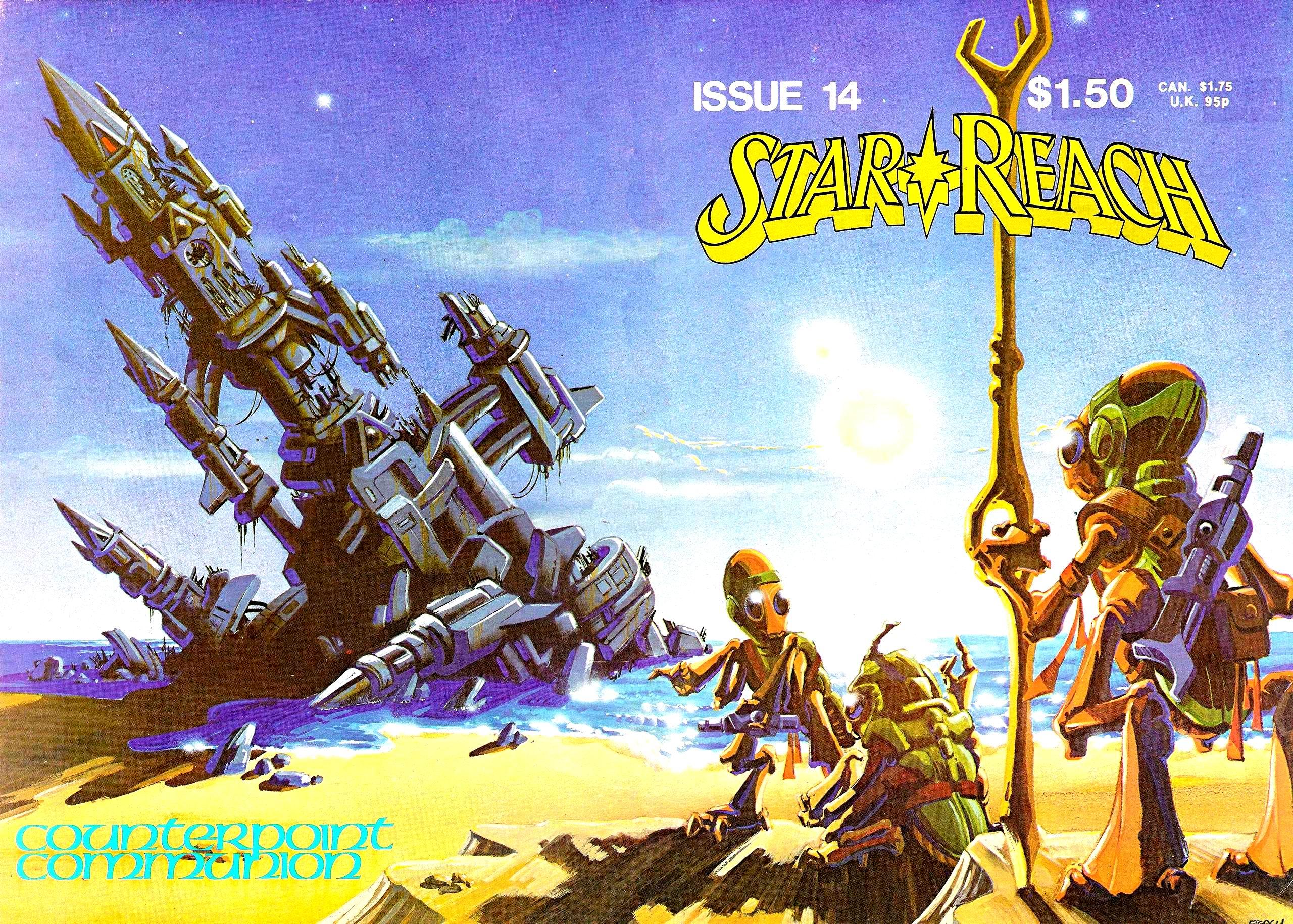 Read online Star*Reach comic -  Issue #14 - 1