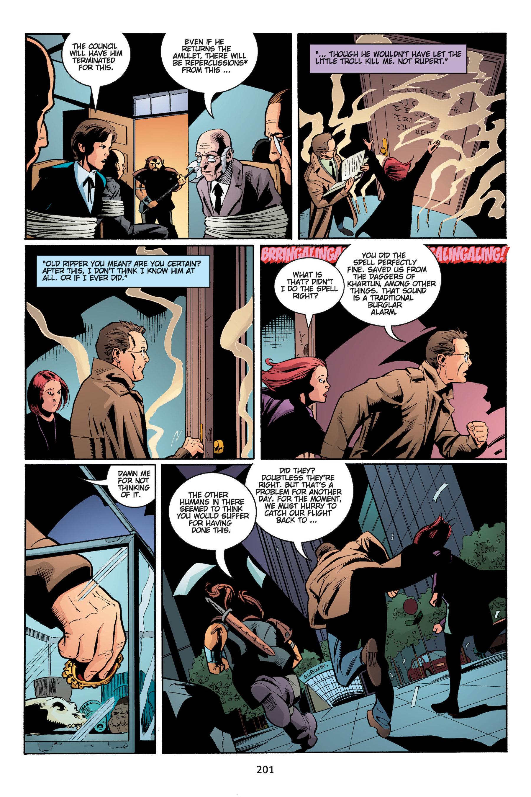 Read online Buffy the Vampire Slayer: Omnibus comic -  Issue # TPB 5 - 201