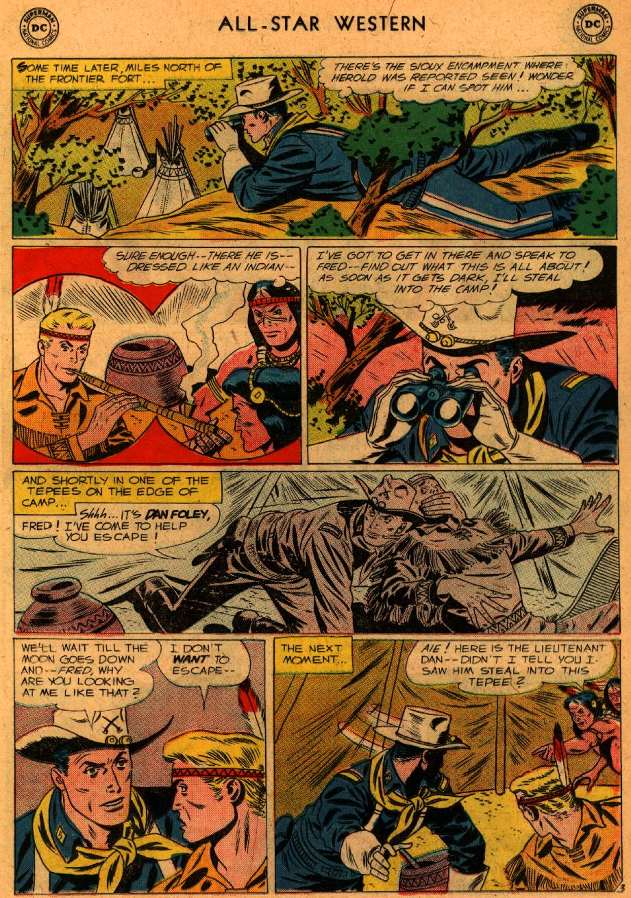 Read online All-Star Western (1951) comic -  Issue #107 - 17