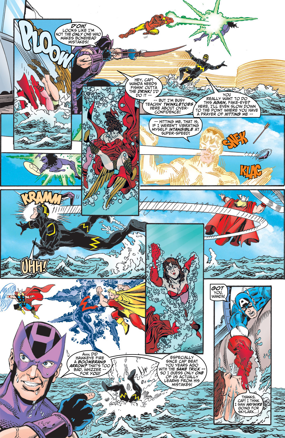 Read online Avengers (1998) comic -  Issue #5 - 19