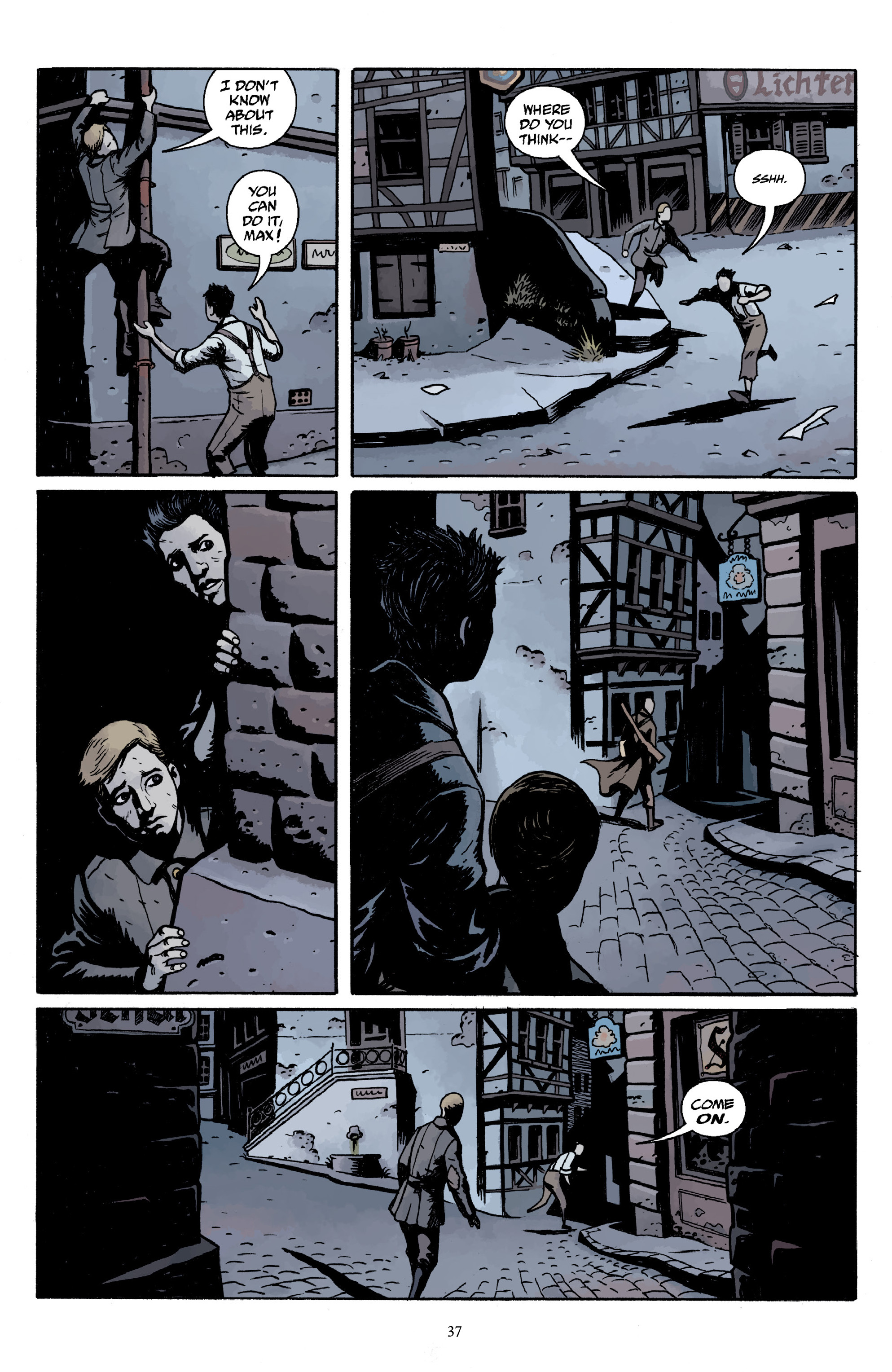 Read online Baltimore Volume 3: A Passing Stranger and Other Stories comic -  Issue # Full - 39