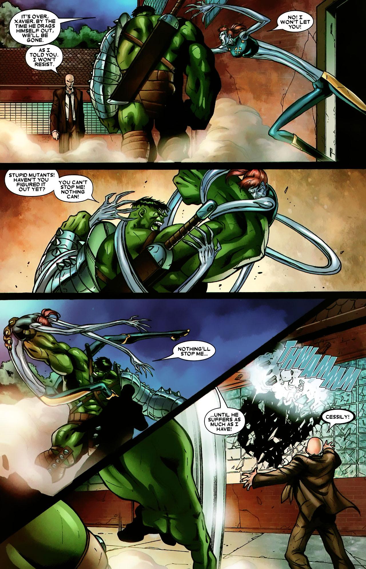 Read online World War Hulk: X-Men comic -  Issue #3 - 20