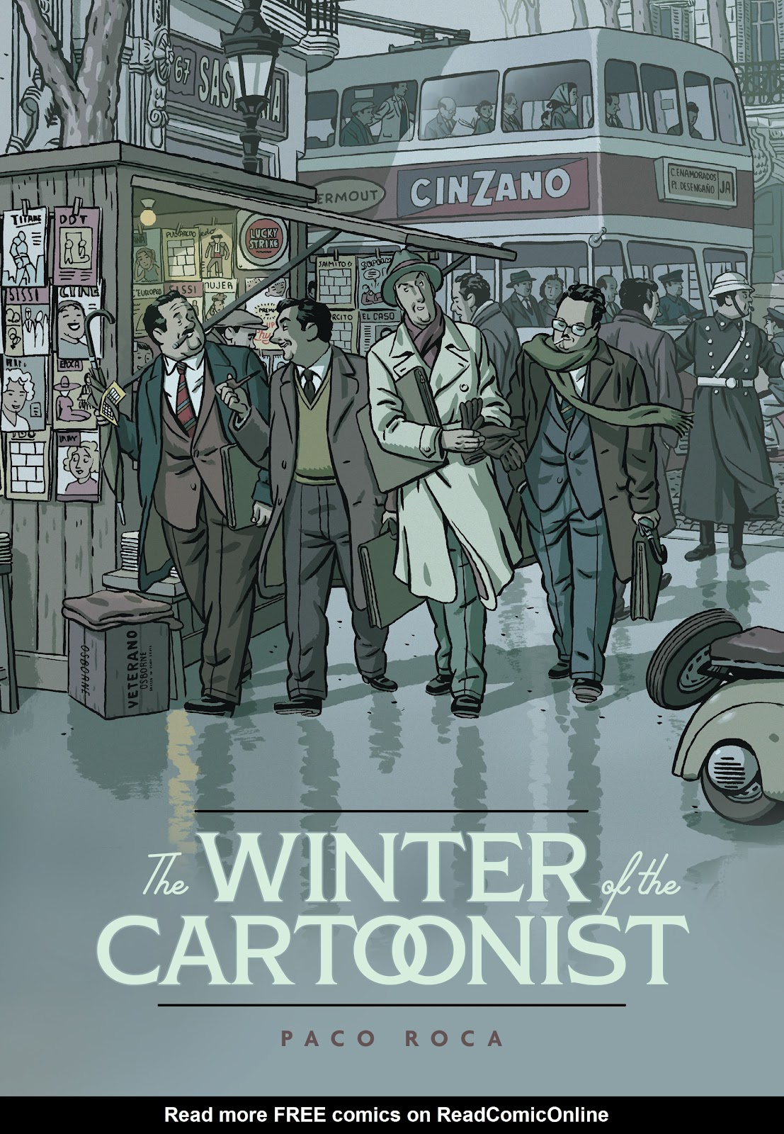 The Winter of the Cartoonist TPB Page 1