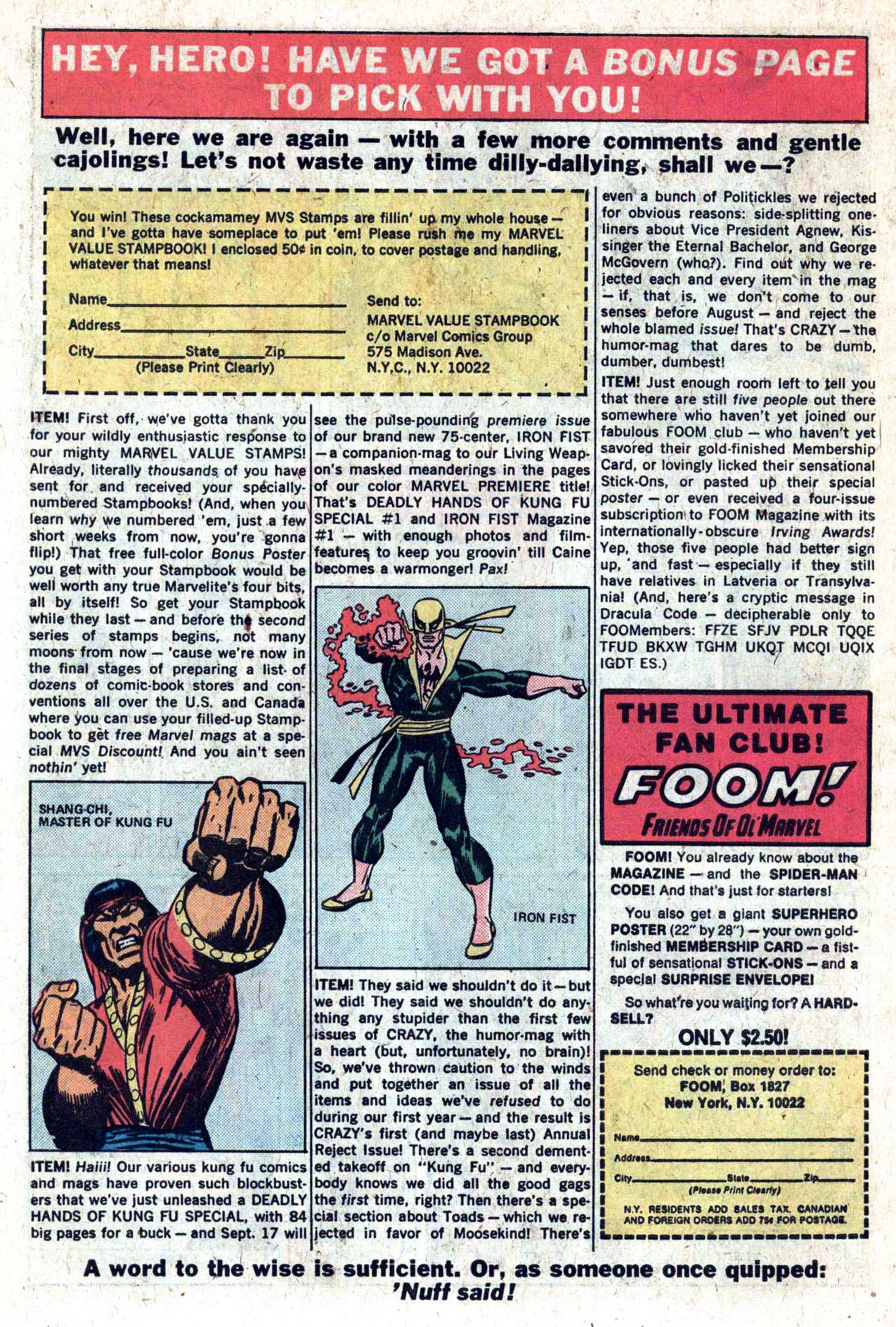 Read online Amazing Adventures (1970) comic -  Issue #27 - 29