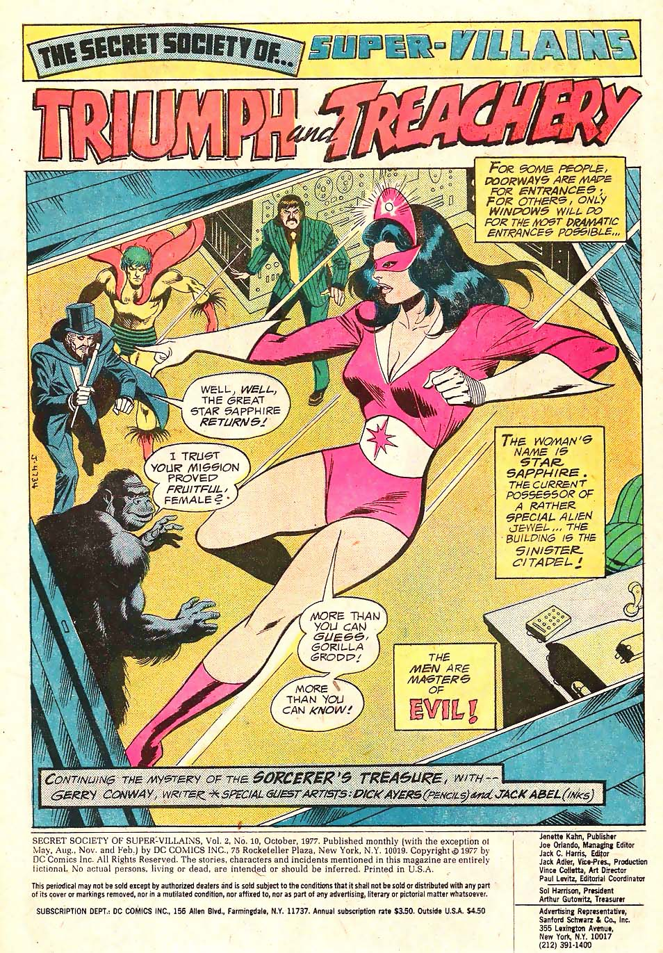 Read online Secret Society of Super-Villains comic -  Issue #10 - 2