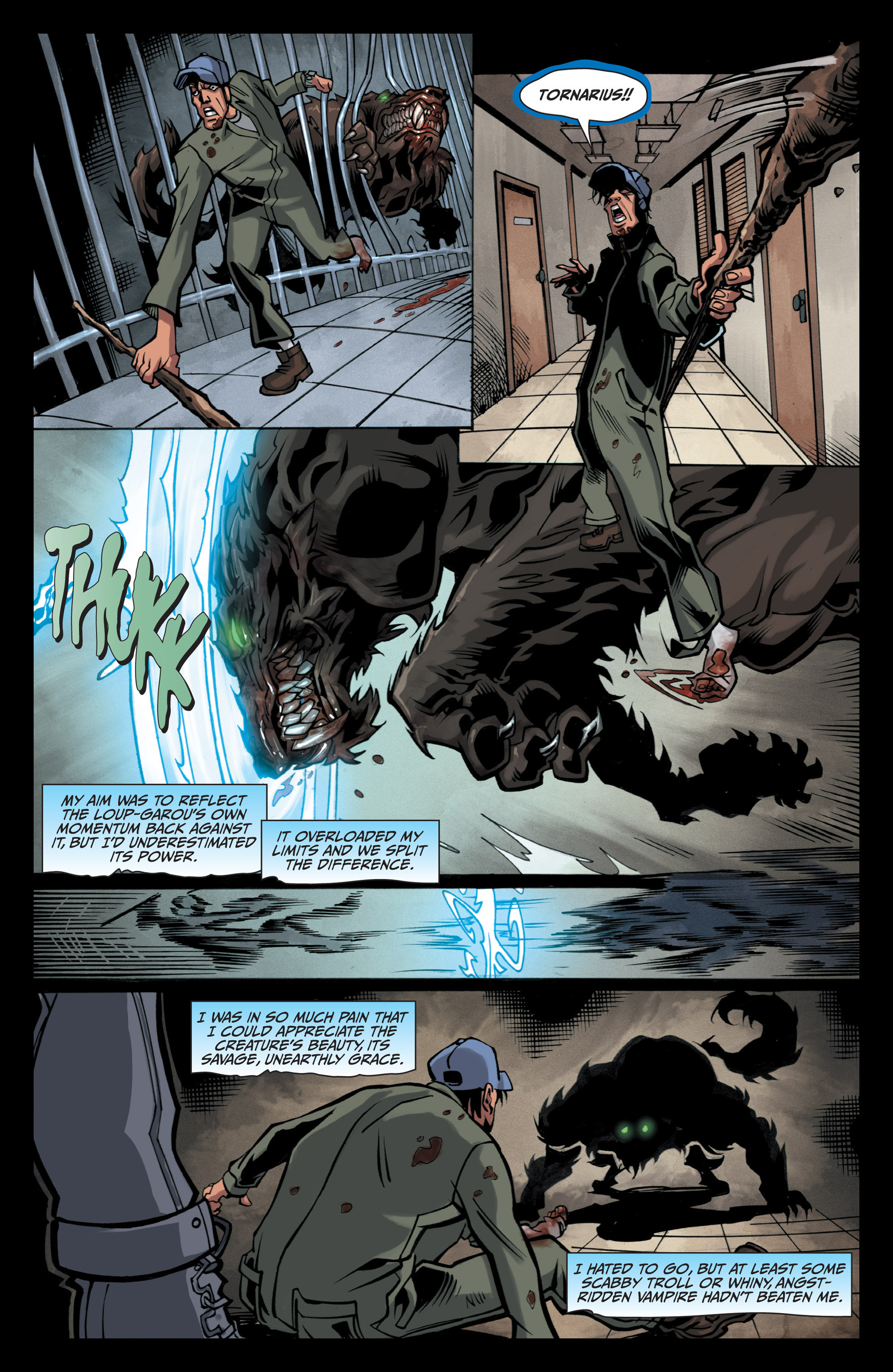 Read online Jim Butcher's The Dresden Files: Fool Moon comic -  Issue #5 - 15