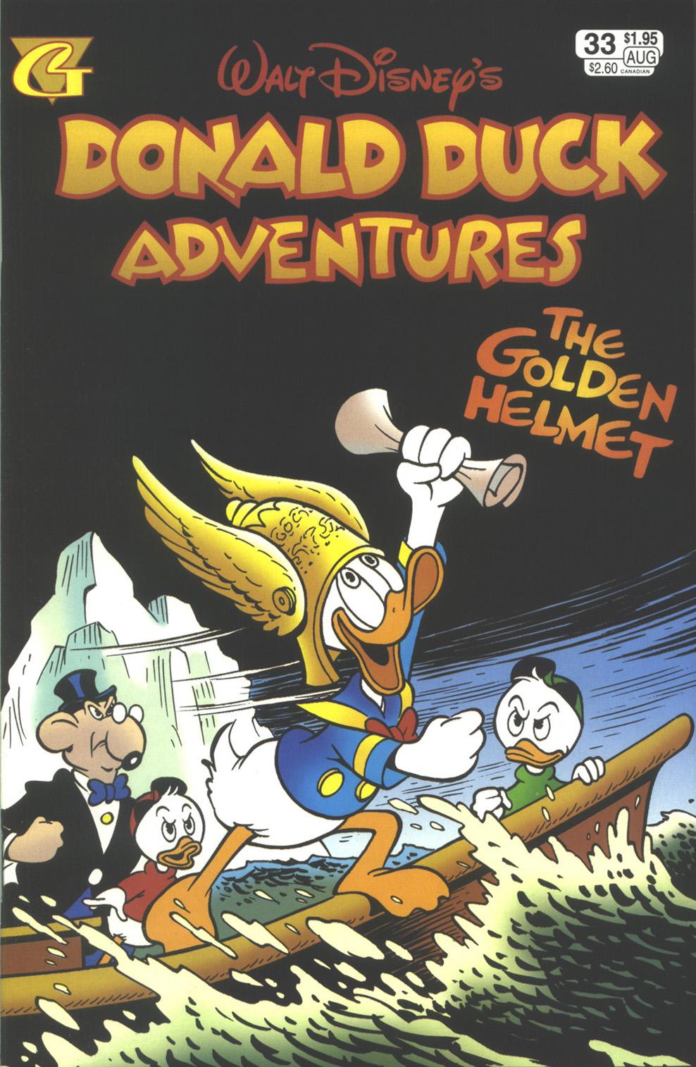Walt Disney's Donald Duck Adventures (1987) issue 33 - Page 1