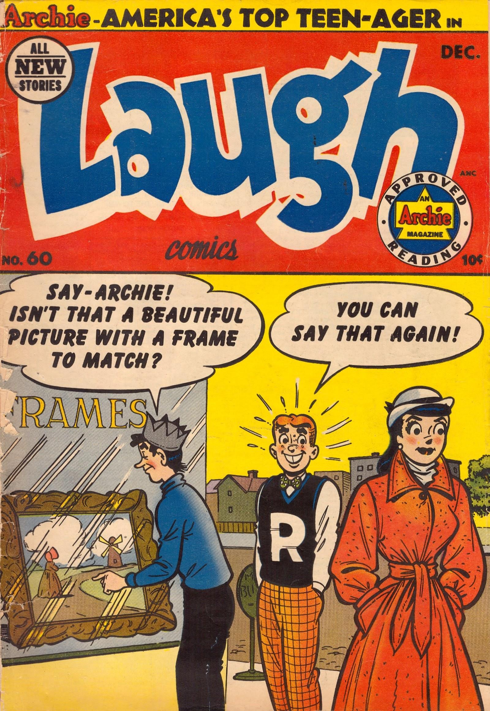 Laugh (Comics) 60 Page 1